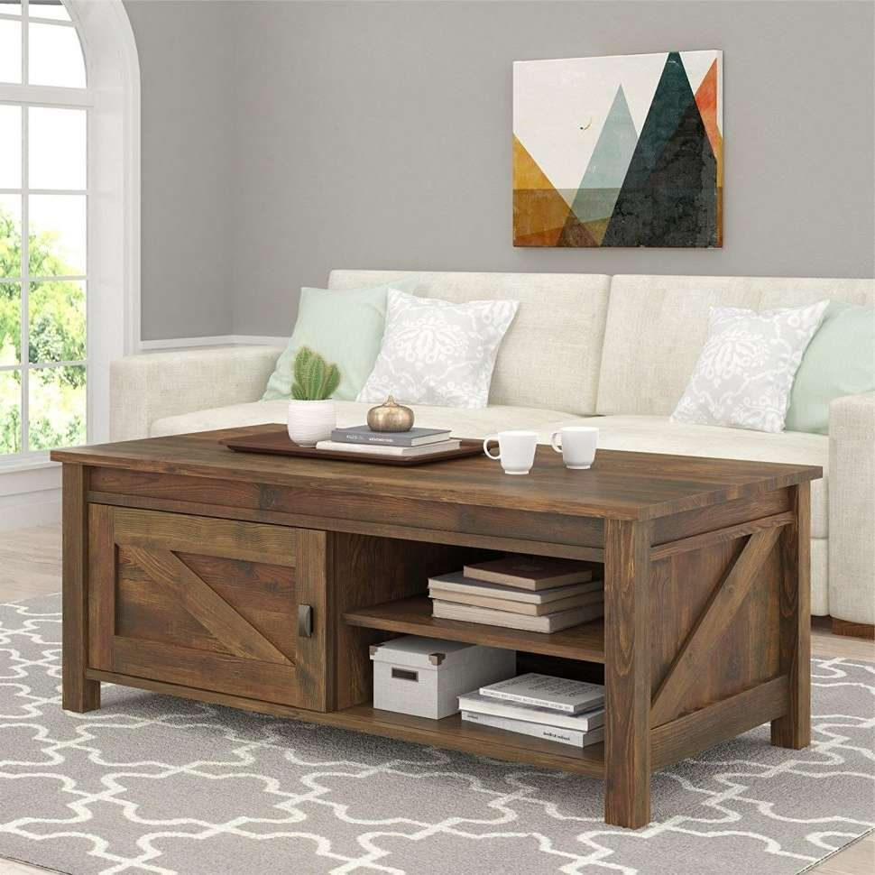 Coffee Tables : Tv Stand With Mount Unique Coffee Tables Sofa Side For Most Current Coffee Tables And Side Table Sets (View 4 of 20)
