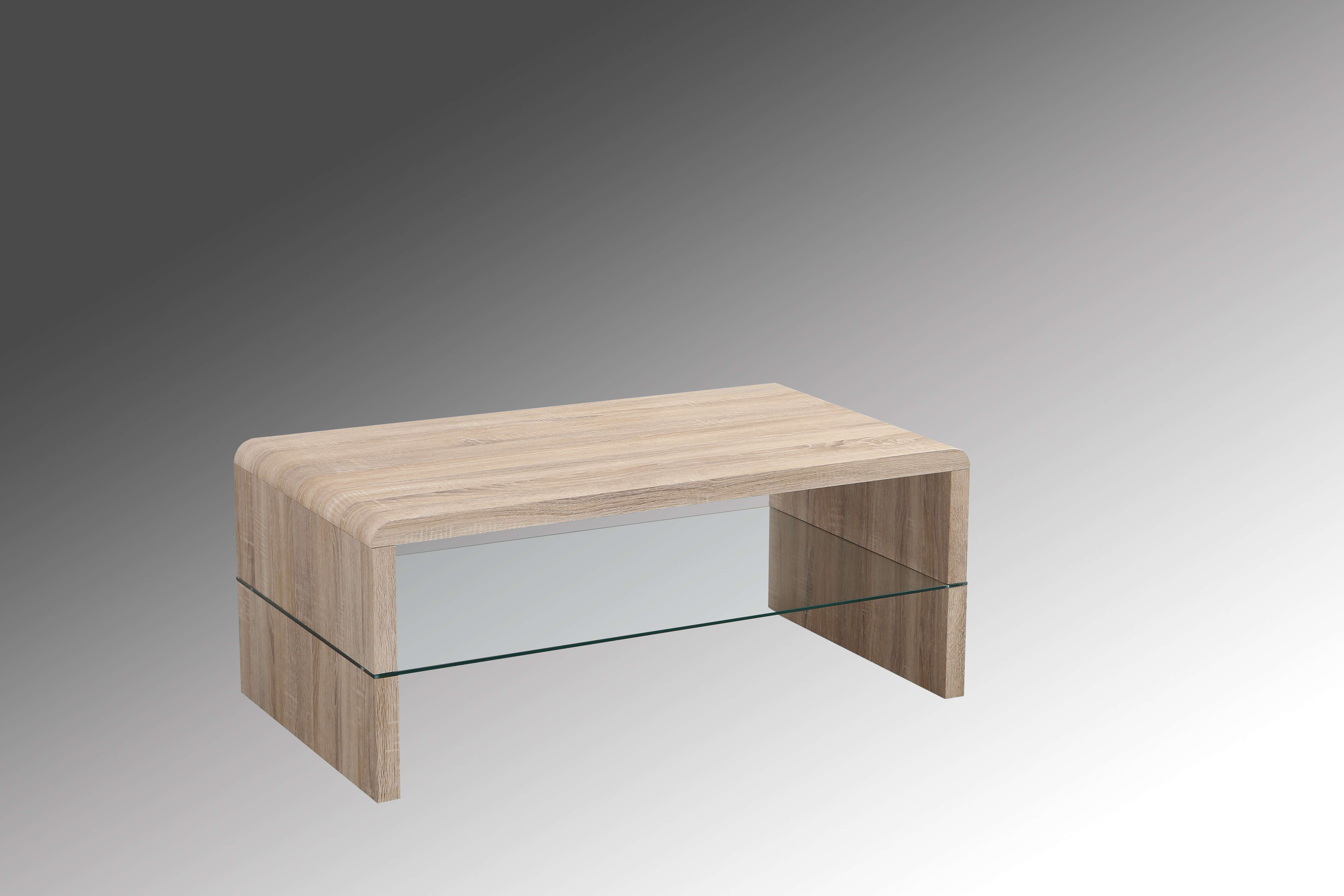 Coffee Tables : Unique Stylish White Small Glass Coffee Tables Intended For Famous Glass And Oak Coffee Tables (View 18 of 20)