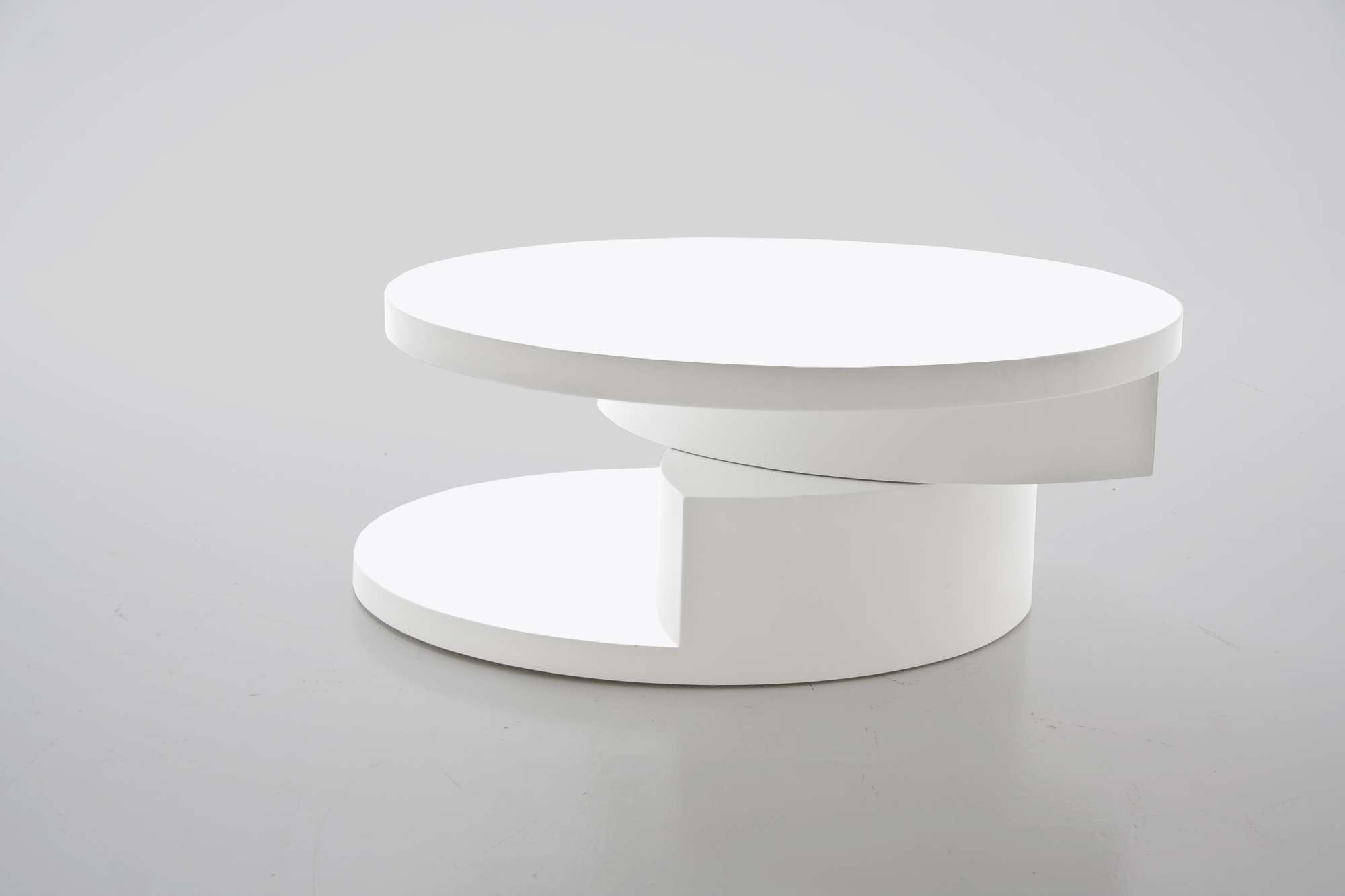 Coffee Tables : White Glass Coffee Table Tofteryd High Gloss Ikea With Regard To 2018 Revolving Glass Coffee Tables (View 7 of 20)
