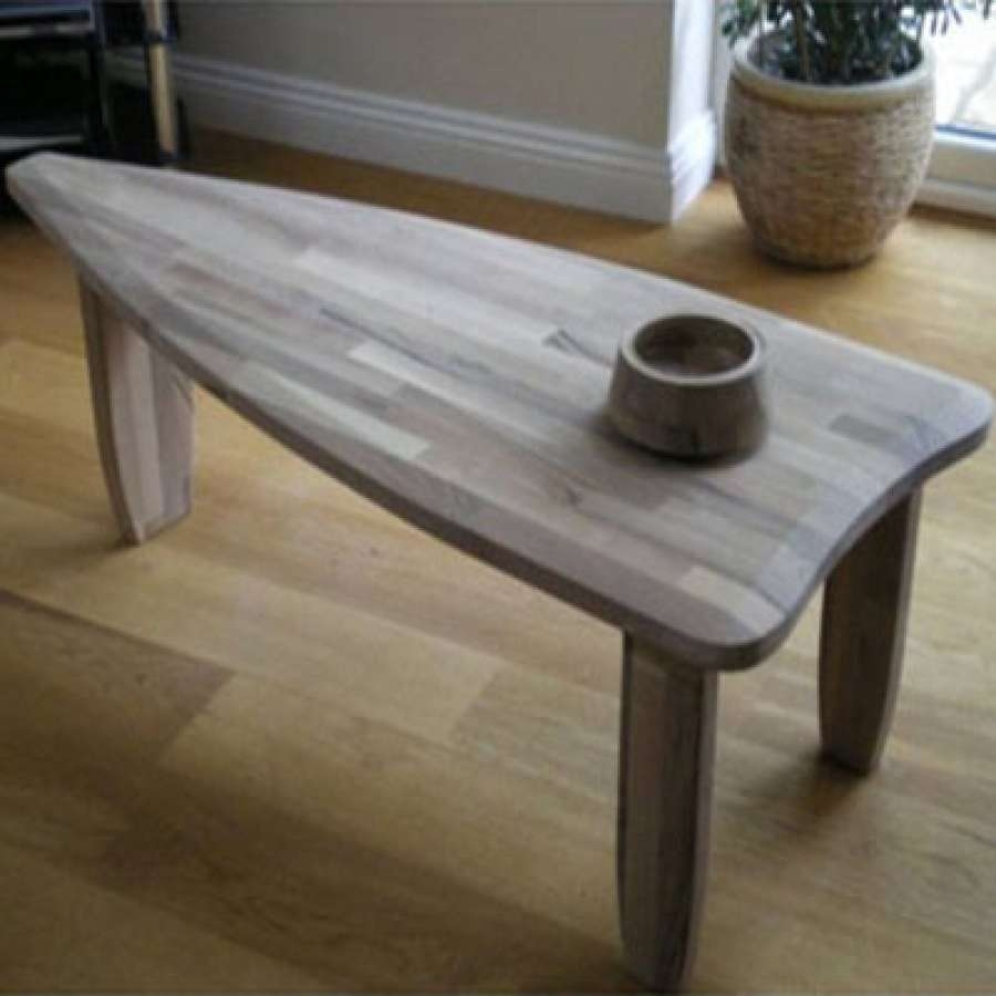 Coffee Tables : Xl Handmade Coffee Table Bespoke Walnut Beech Oak In Preferred Beech Coffee Tables (View 7 of 20)