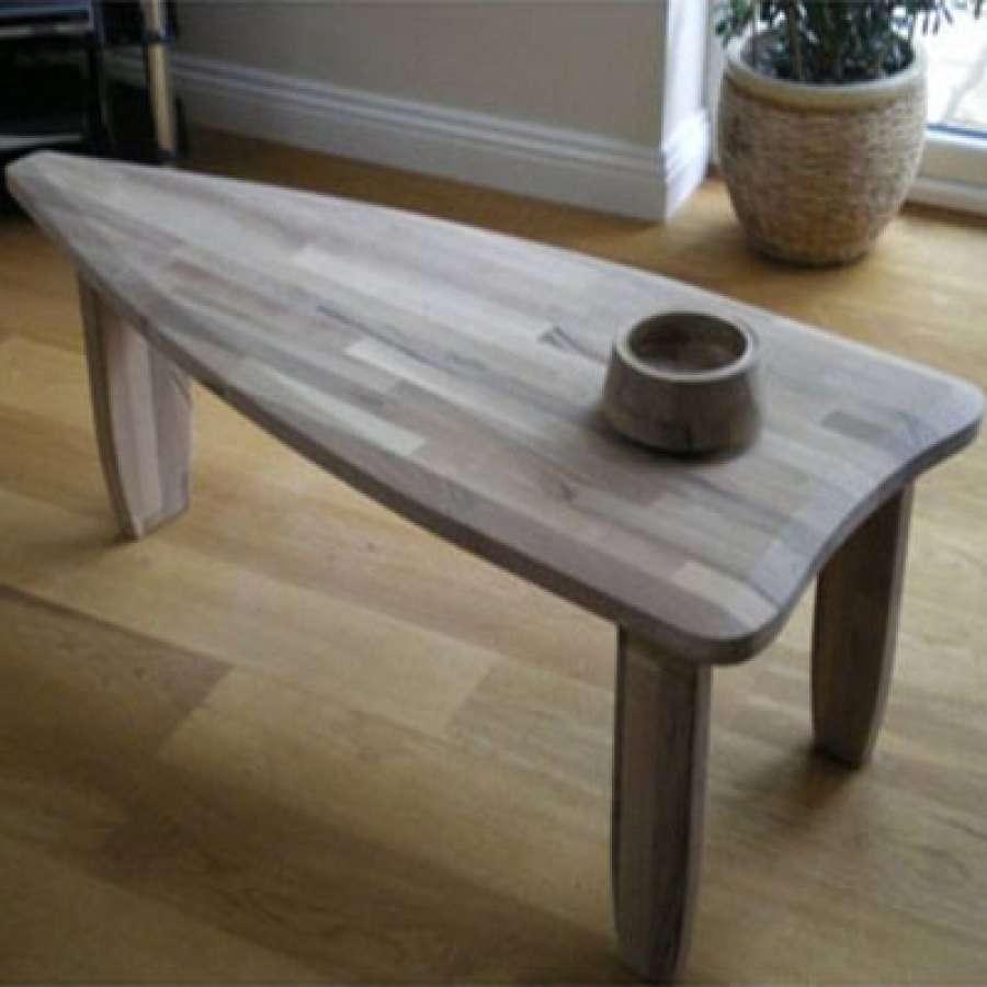 Coffee Tables : Xl Handmade Coffee Table Bespoke Walnut Beech Oak In Preferred Beech Coffee Tables (View 16 of 20)