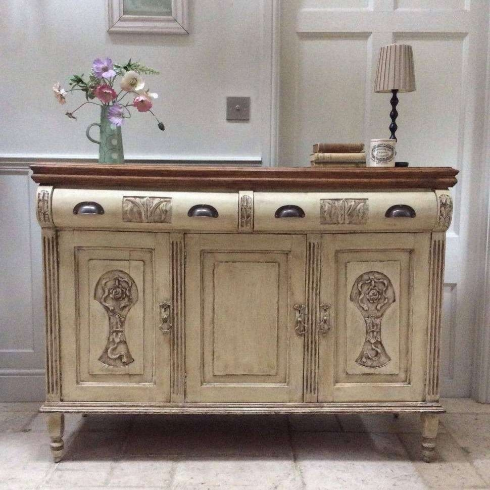 Collection Cream Kitchen Sideboard – Buildsimplehome Intended For Cream And Brown Sideboards (View 19 of 20)