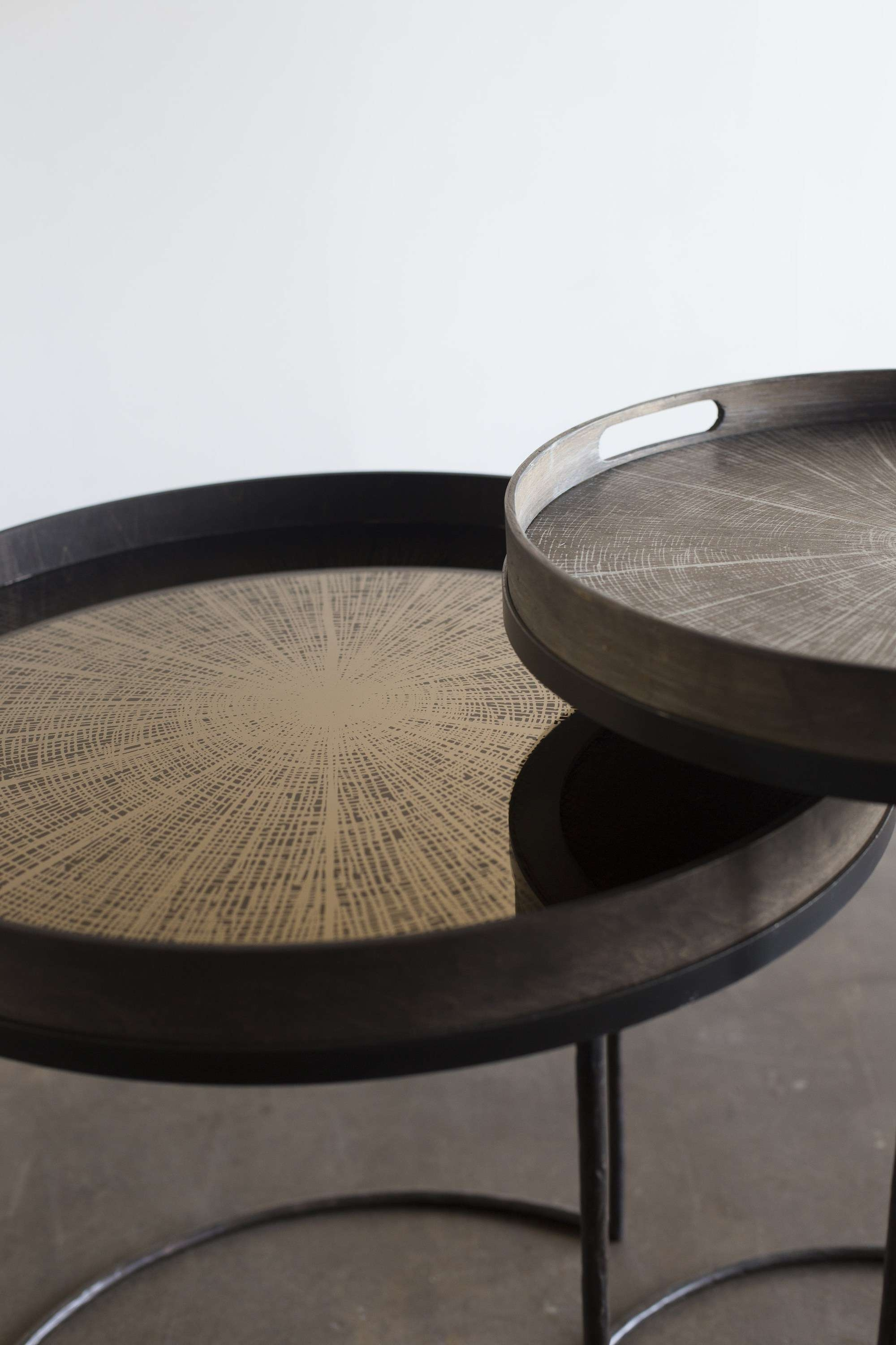 Collection In Round Coffee Table Tray With Round Coffee Table With In Latest Round Coffee Table Trays (View 8 of 20)