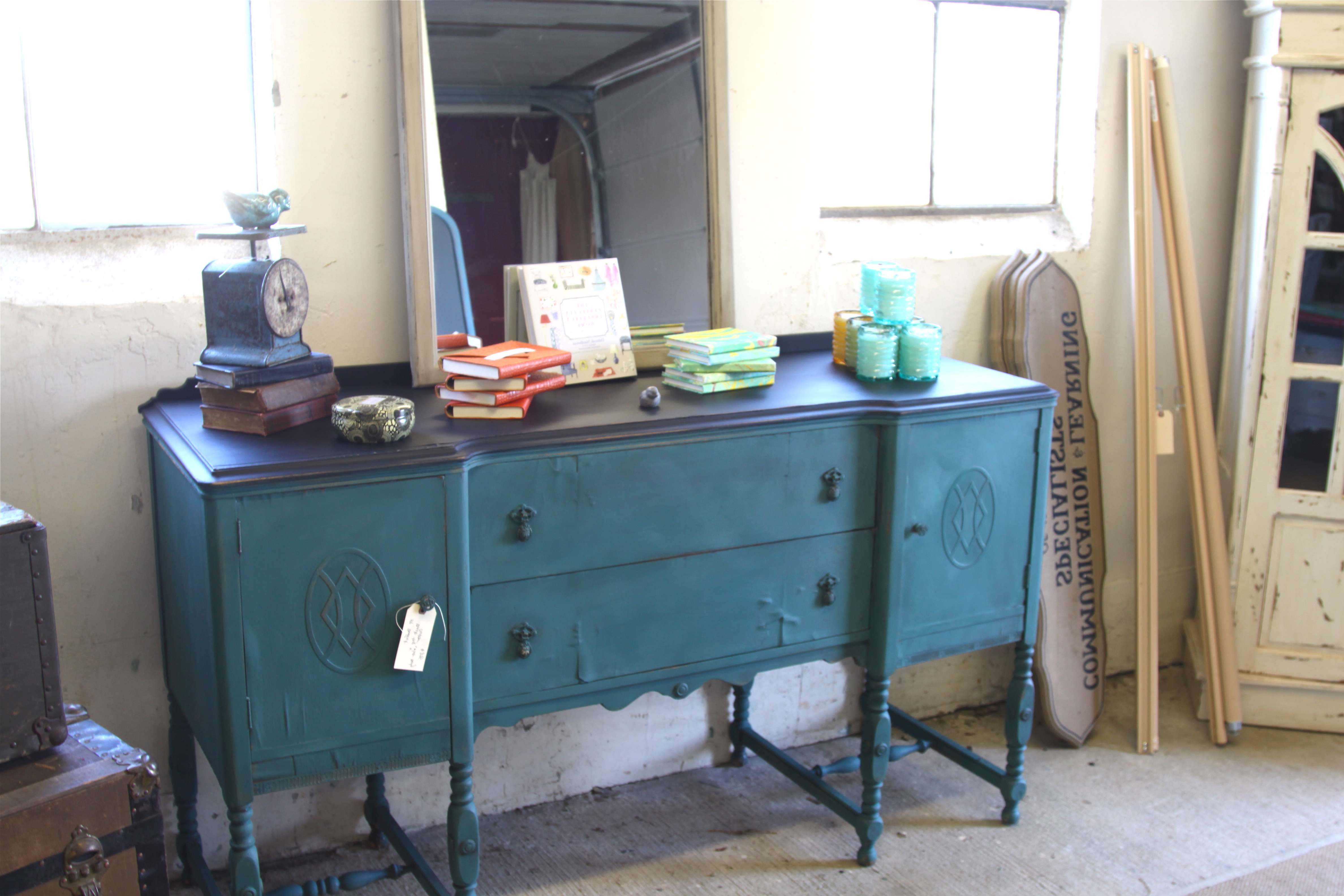 Colorful Monday – Patina | Stylish Patina Intended For Chalk Painted Sideboards (View 8 of 20)
