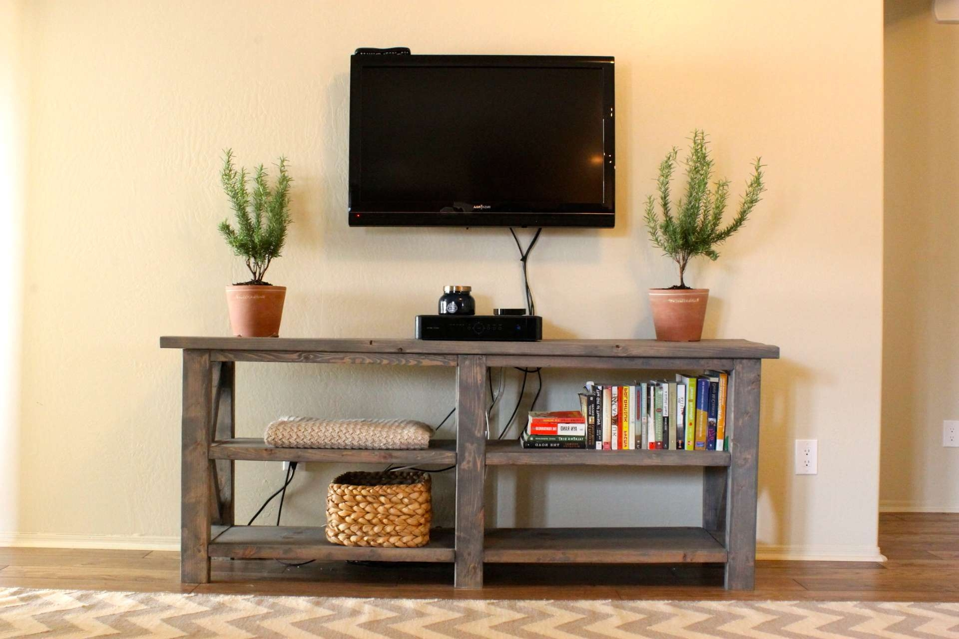 Console Tables : Mission Style Sofa Console Table Tables Target Tv In Wall Mounted Under Tv Cabinets (View 3 of 20)