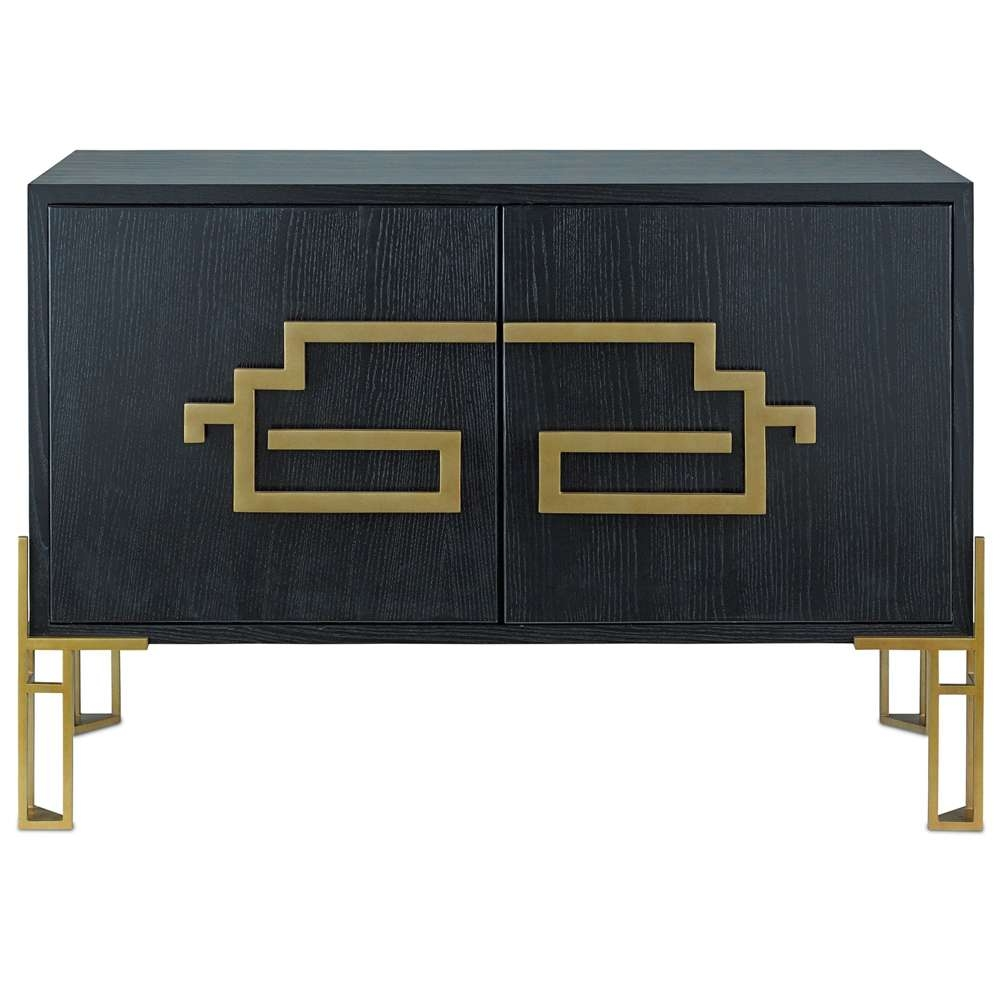 Contempo Black And Gold Sideboard – Cosmo Chic With Regard To Gold Sideboards (View 5 of 20)