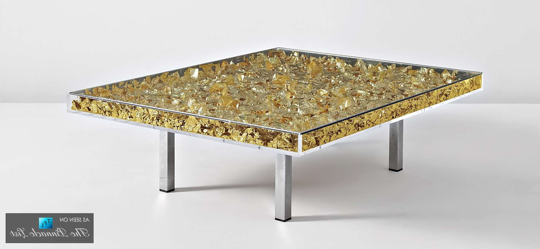Contemporary Art As Modern Luxury Furniture – Spotlighting The In Well Known Art Coffee Tables (View 6 of 20)