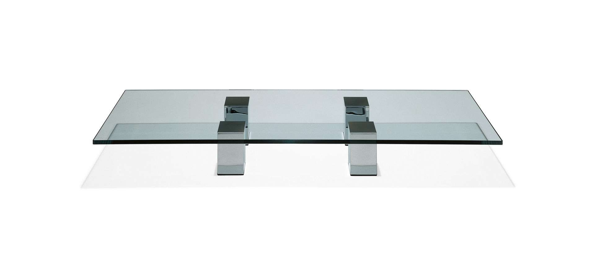 Contemporary Coffee Table / Glass / Natural Stone – 1210 Grande Pertaining To Best And Newest Stone And Glass Coffee Tables (View 11 of 20)