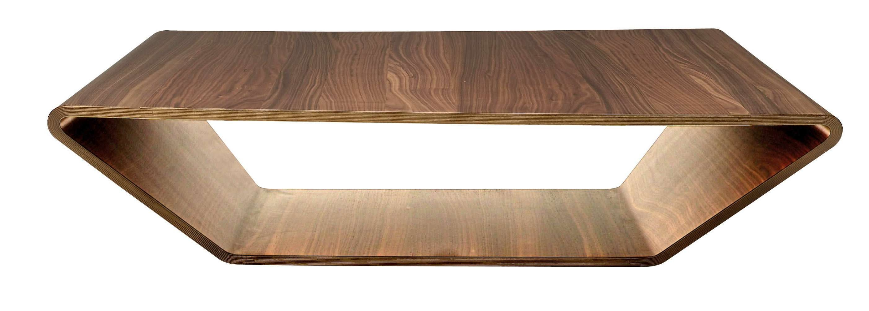 Contemporary Coffee Table / Oak / Walnut / Birch – Brasilia Throughout Favorite Contemporary Oak Coffee Table (View 6 of 20)
