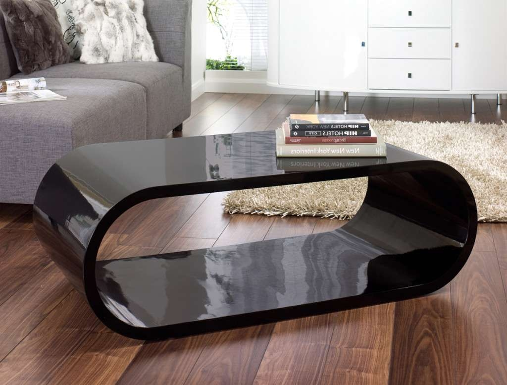 Contemporary Coffee Table Set Modern Coffee Tables Modern Glass Inside Fashionable Oval Gloss Coffee Tables (View 7 of 20)