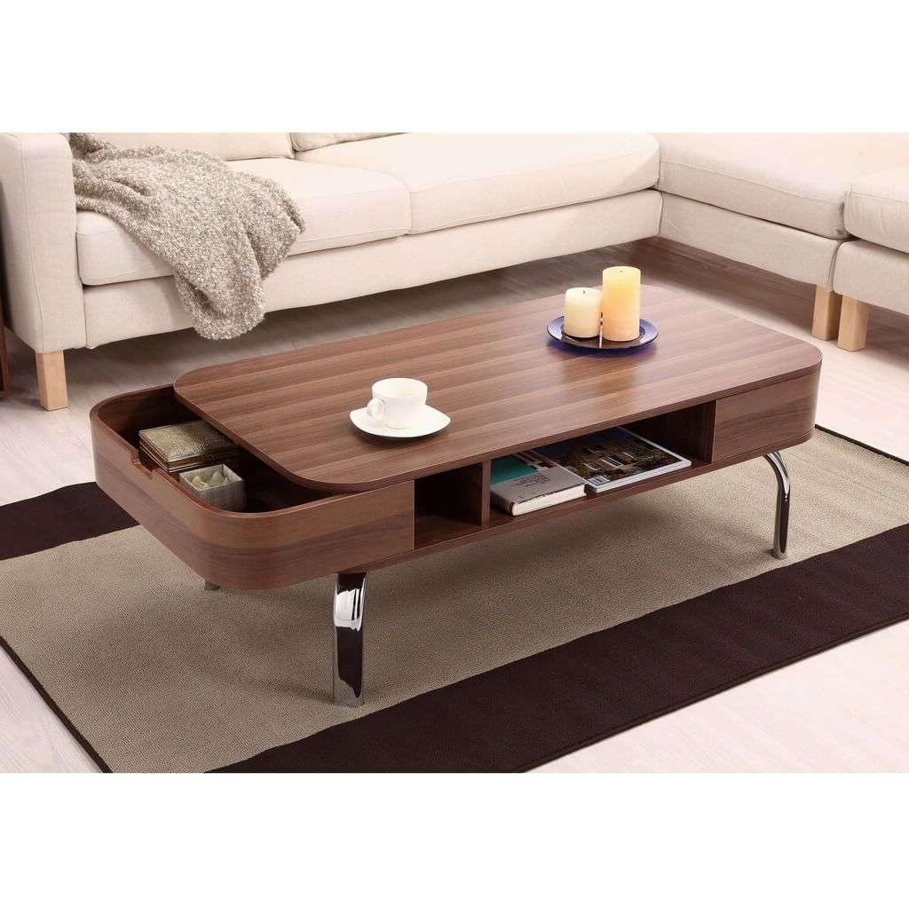 2018 Latest Low Coffee Table With Storage