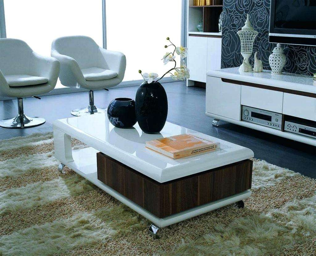 Contemporary Coffee Tables Fit For Home Design Image Of For Well Known Large Contemporary Coffee Tables (View 10 of 20)