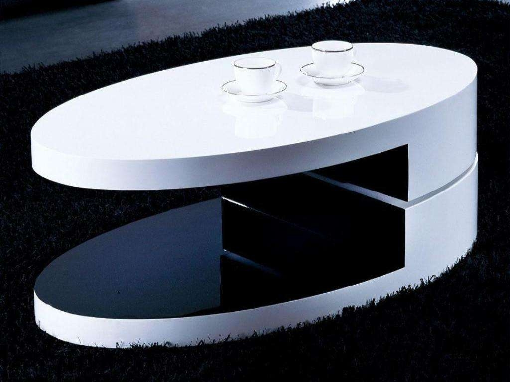 Contemporary Oval Coffee Table Ideas (View 5 of 20)