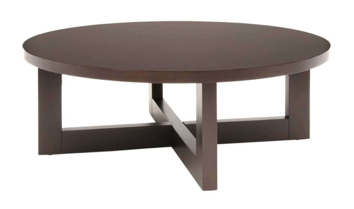Contemporary Round Coffee Table (View 5 of 20)