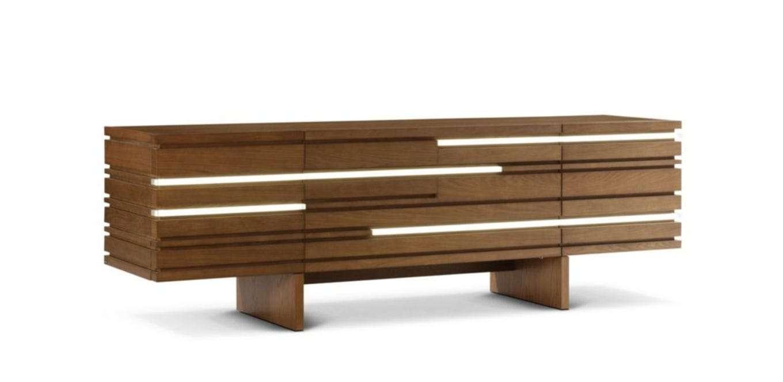 Contemporary Sideboard / Oak – Layersluigi Gorgoni – Roche Bobois With Roche Bobois Sideboards (View 18 of 20)