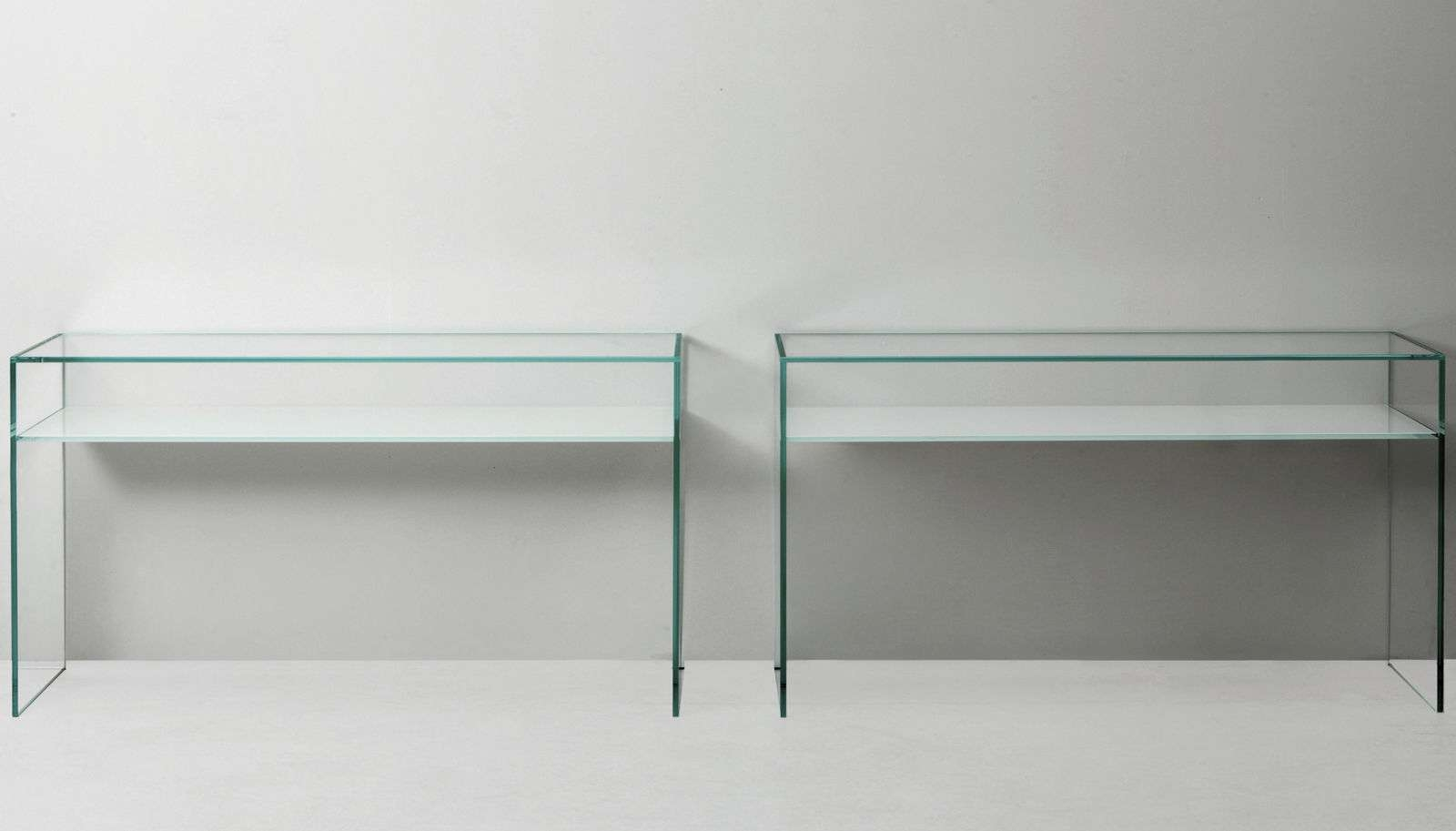 Contemporary Sideboard Table / Tempered Glass / Lacquered Glass Pertaining To Glass Sideboards (View 2 of 20)