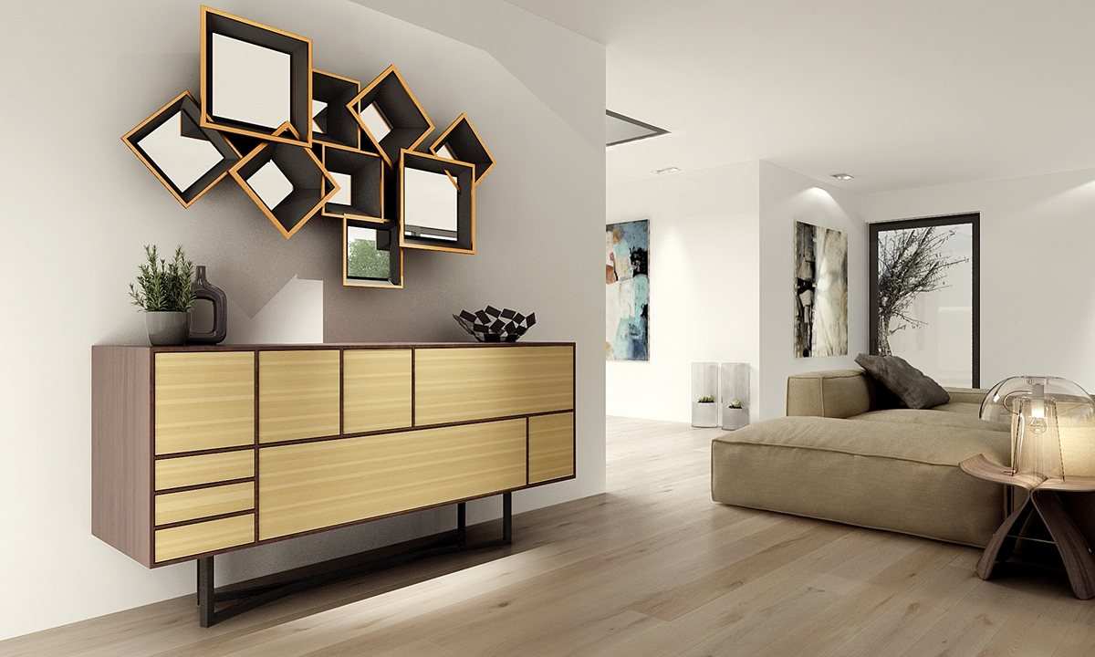 Contemporary Sideboards Inspiredmusic Intended For Contemporary Sideboards And Buffets (View 11 of 20)