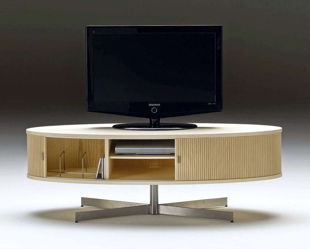 Contemporary Tv Cabinet / Oak / Walnut / Ash – Ak 1350Nissen Regarding Contemporary Oak Tv Cabinets (View 8 of 20)