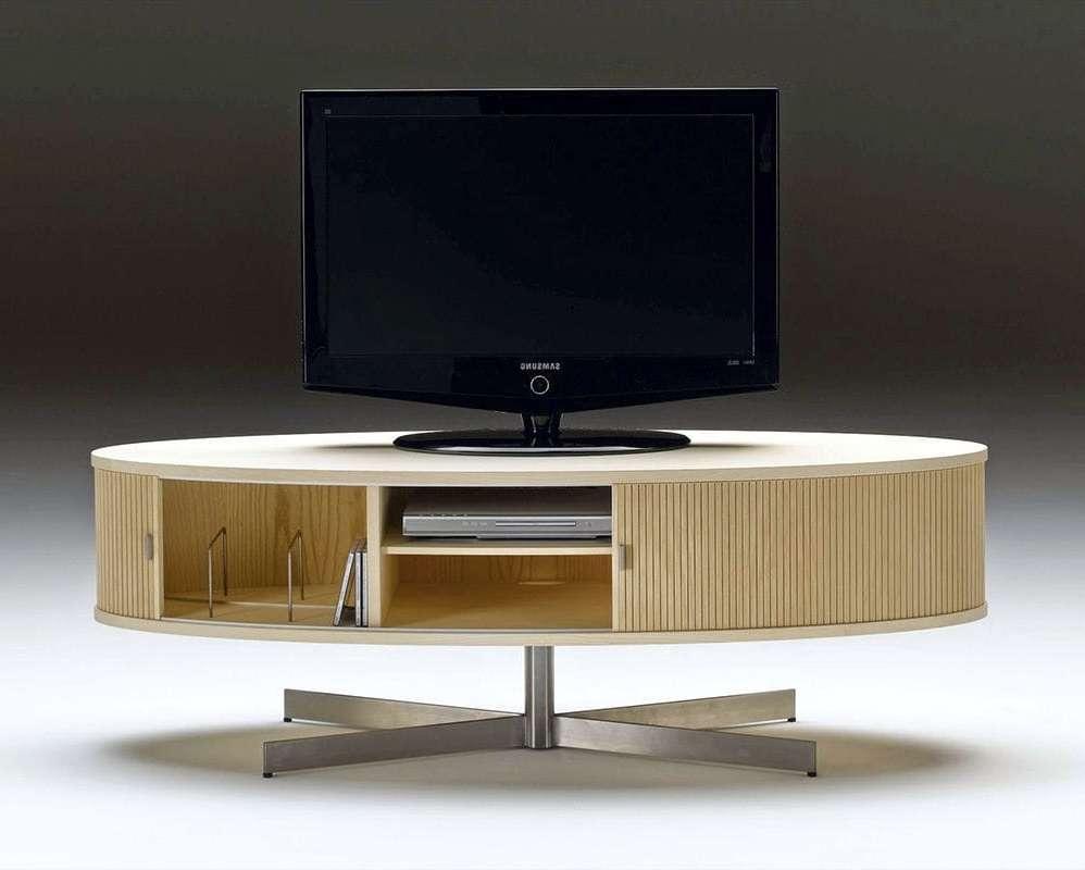Contemporary Tv Cabinet / Oak / Walnut / Ash – Ak 1350nissen Regarding Contemporary Oak Tv Cabinets (View 4 of 20)