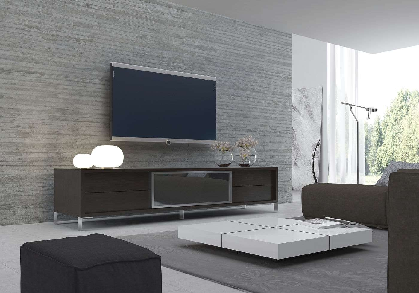Contemporary Tv Cabinet / Wooden – Lexington – Modloft With Regard To Modern Tv Cabinets (View 10 of 20)