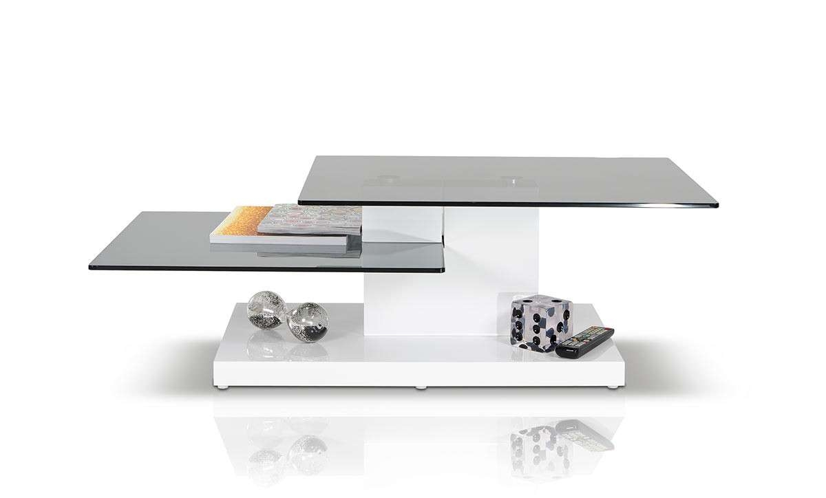 Contemporary White High Gloss Coffee Table For Preferred High Gloss Coffee Tables (View 8 of 20)