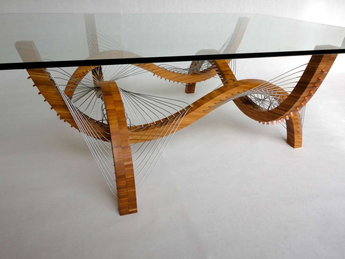Contour Coffee Table And Lamprobby Cuthbert – Design Milk With Well Known Curve Coffee Tables (View 3 of 20)