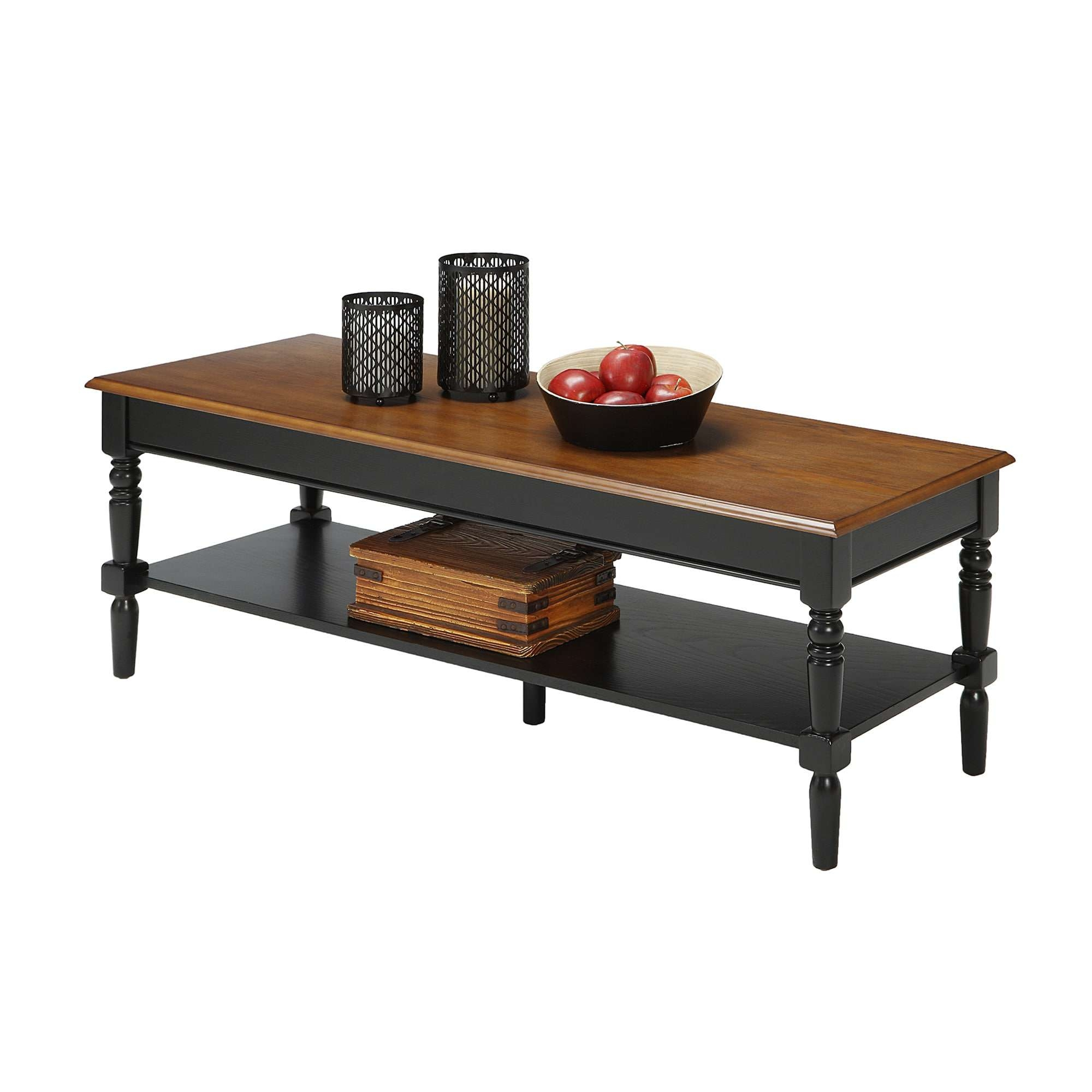 Convenience Concepts French Country Coffee Table – Free Shipping Within Most Recent Country Coffee Tables (View 7 of 20)