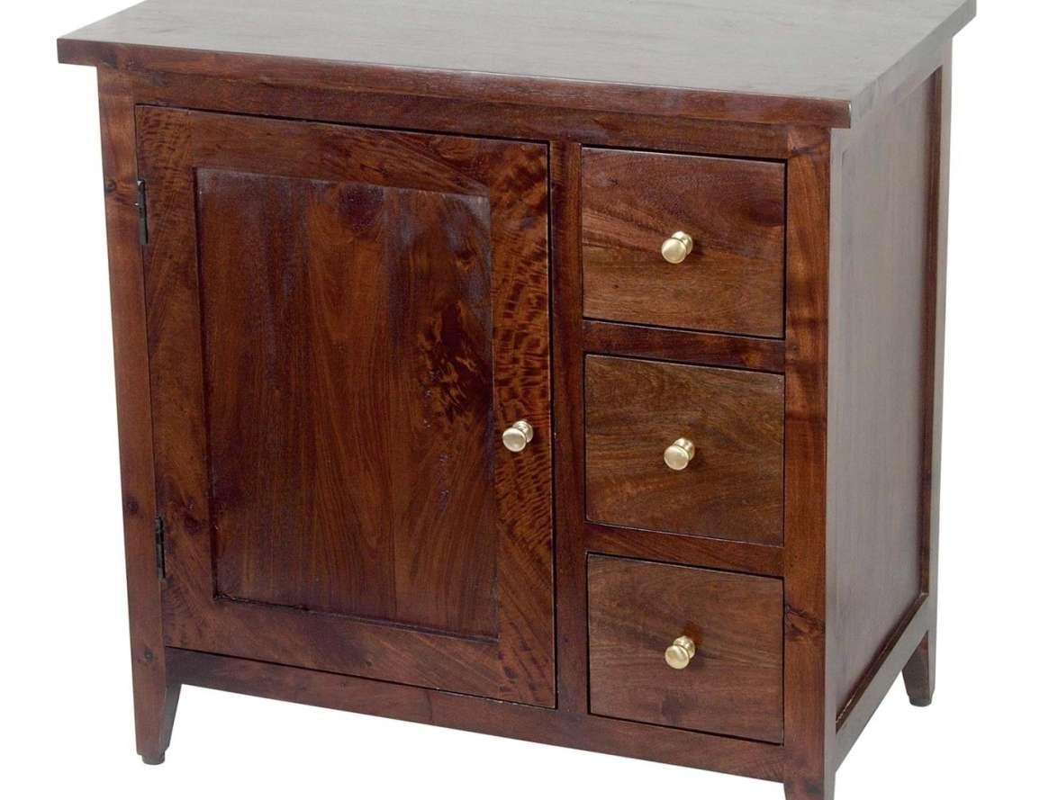 Cool Dark Wood Sideboard Antique Tags : Dark Wood Sideboard Buffet Within Small Dark Wood Sideboards (View 6 of 20)
