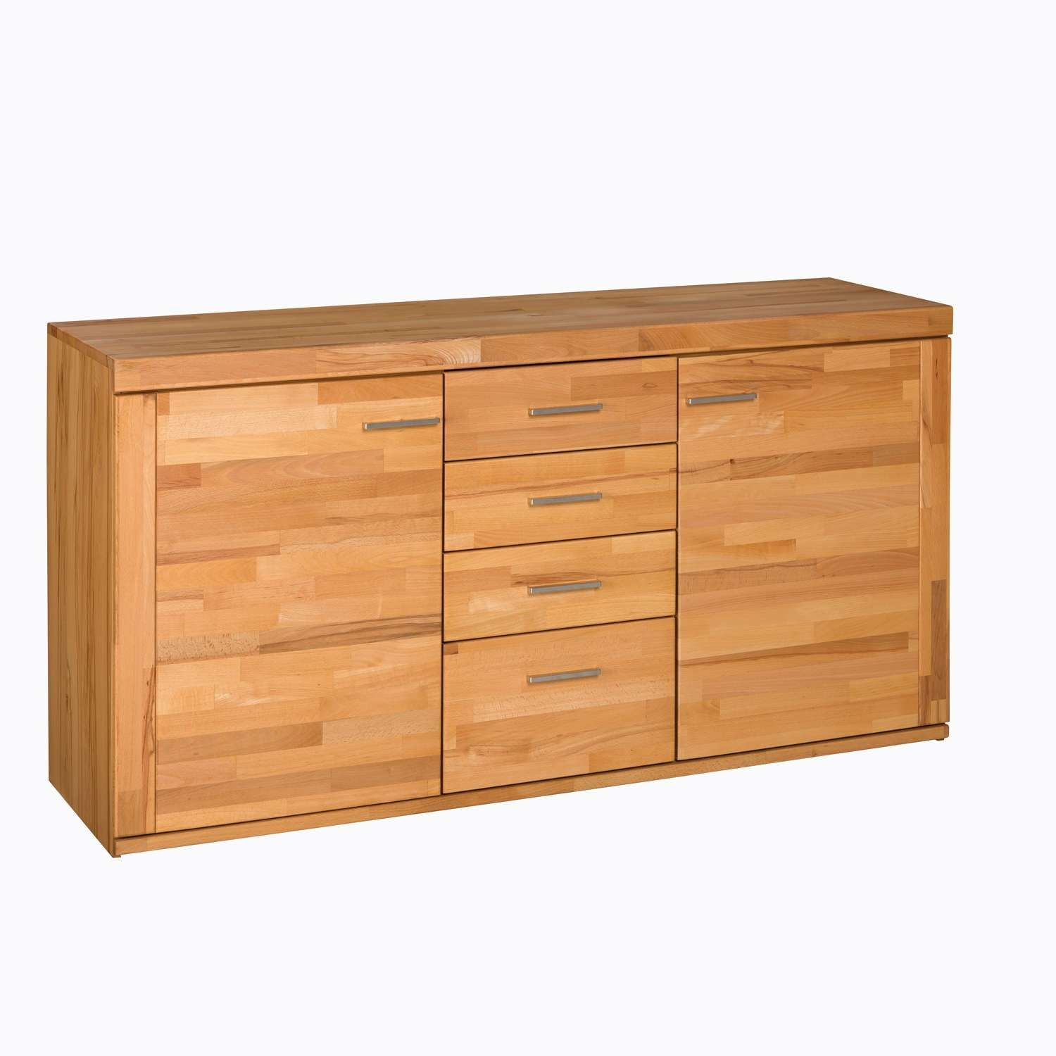 Core Beech Natural Oiled 2 Door Drawer With Beech Sideboards (View 6 of 20)