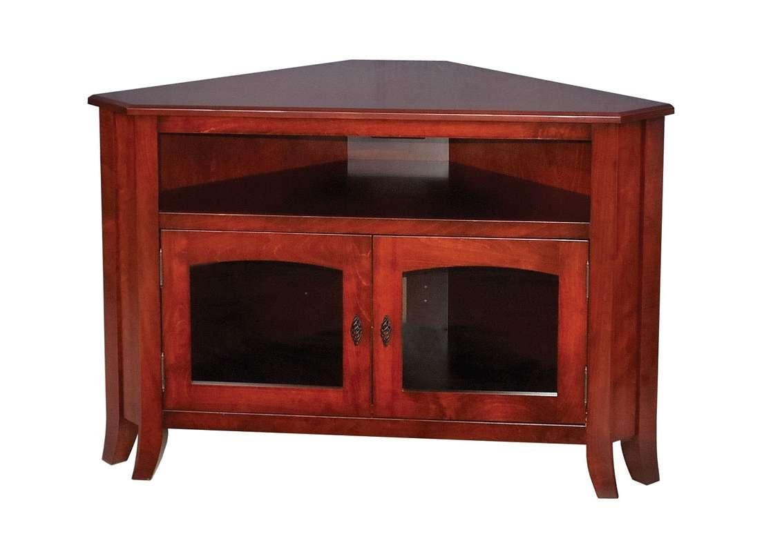 Corner Tv Cabinet With Doors Gallery – Doors Design Ideas Pertaining To Corner Tv Cabinets With Glass Doors (View 12 of 20)