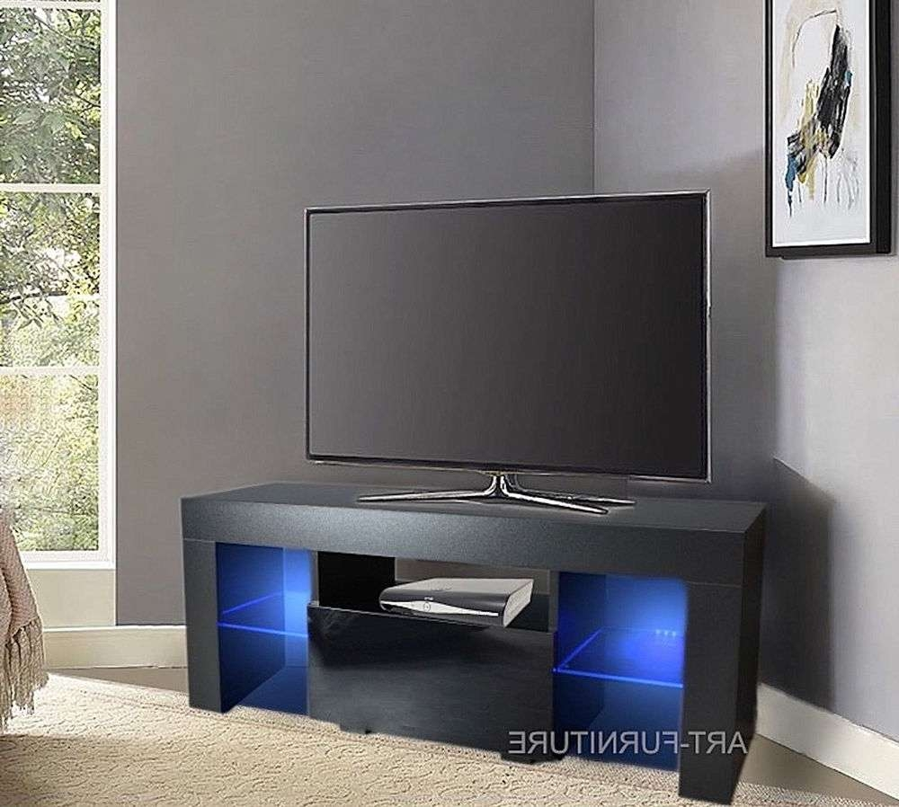 Corner Tv Cabinets | Ebay Throughout Small Black Tv Cabinets (View 4 of 20)