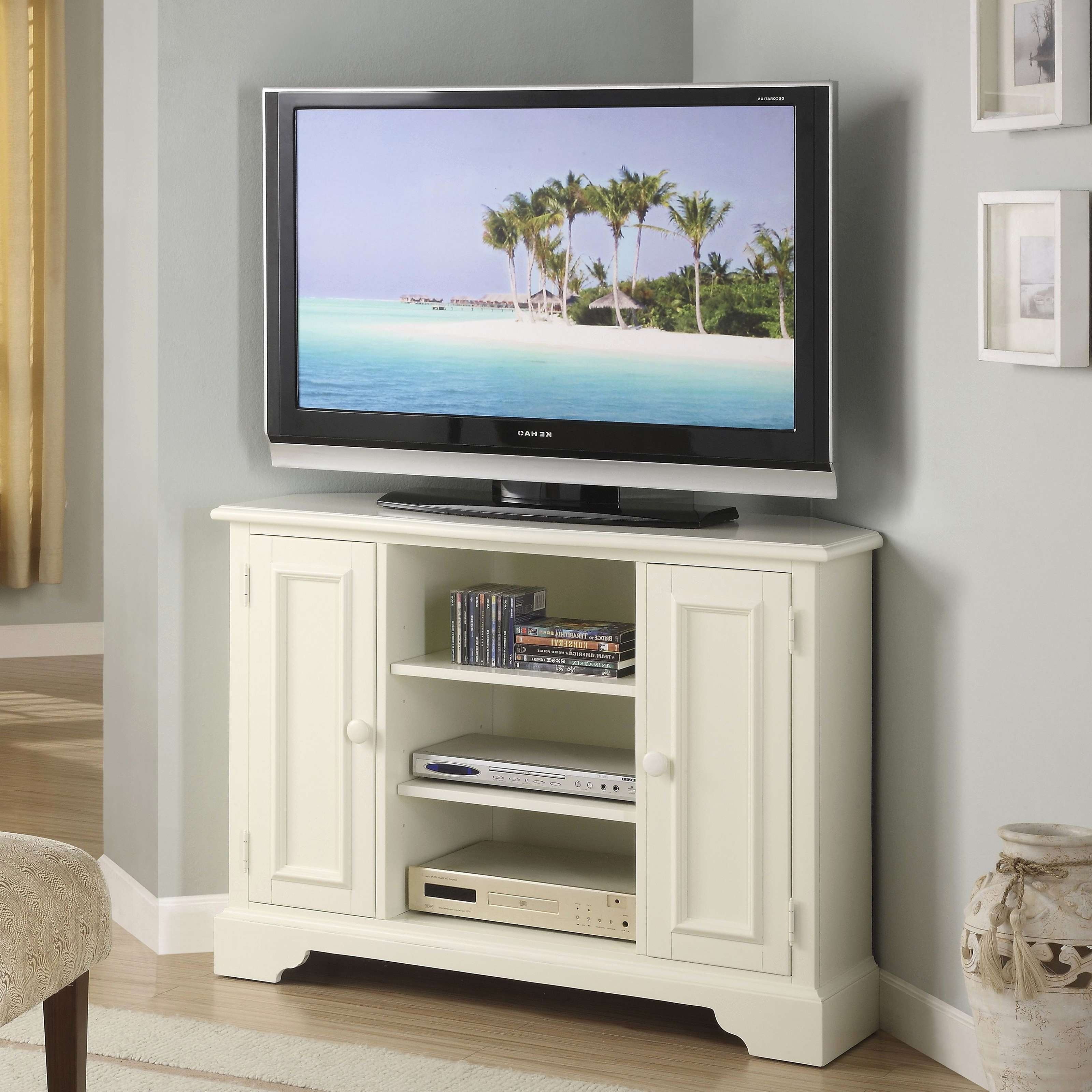 Corner Tv Stands For Flat Screen Tvs New Living Tv Stands For For Corner Tv Cabinets For Flat Screens (View 7 of 20)