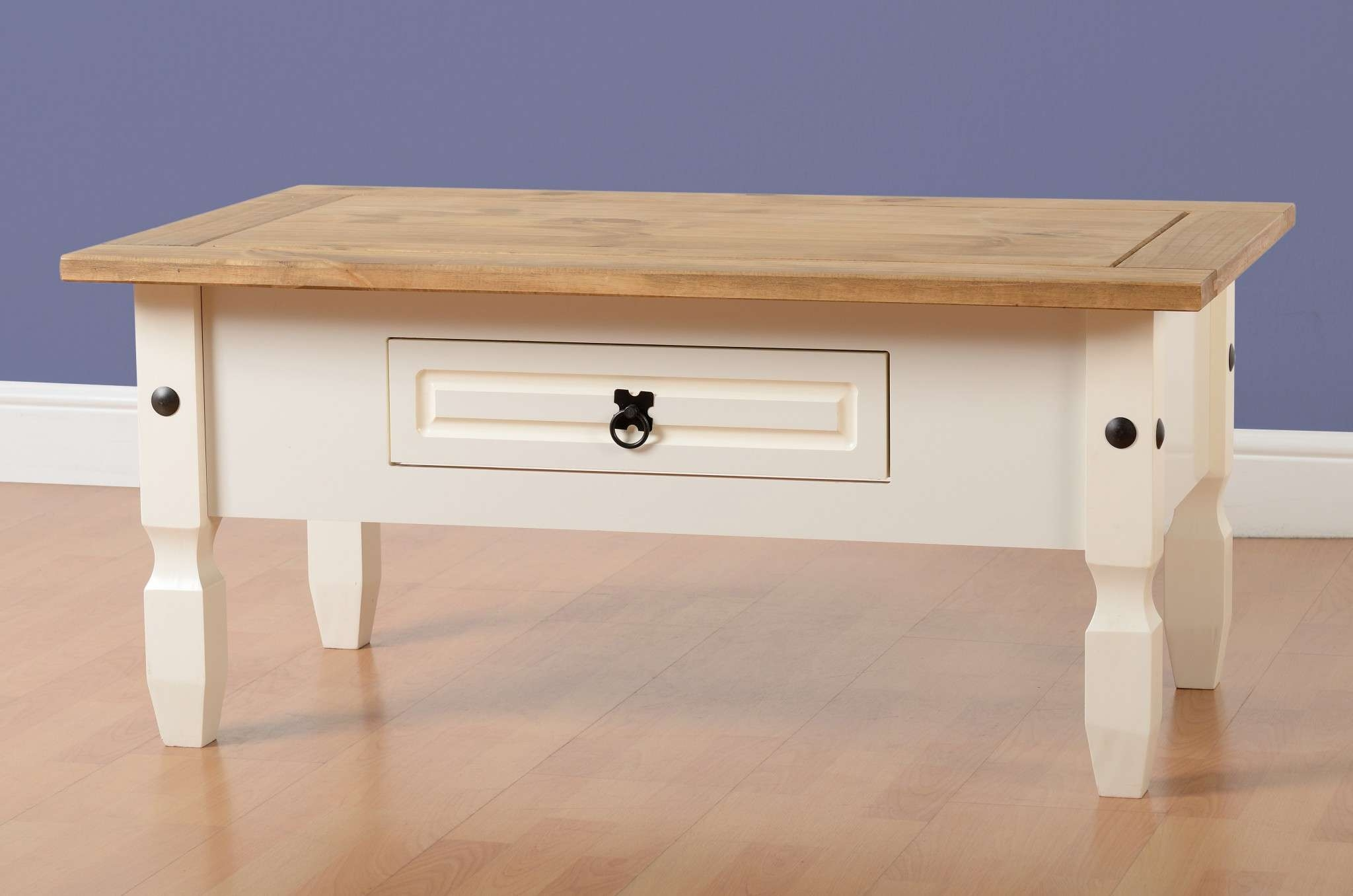 Corona Cream Coffee Table – Fall For Furniture With Famous Cream Coffee Tables With Drawers (View 8 of 20)