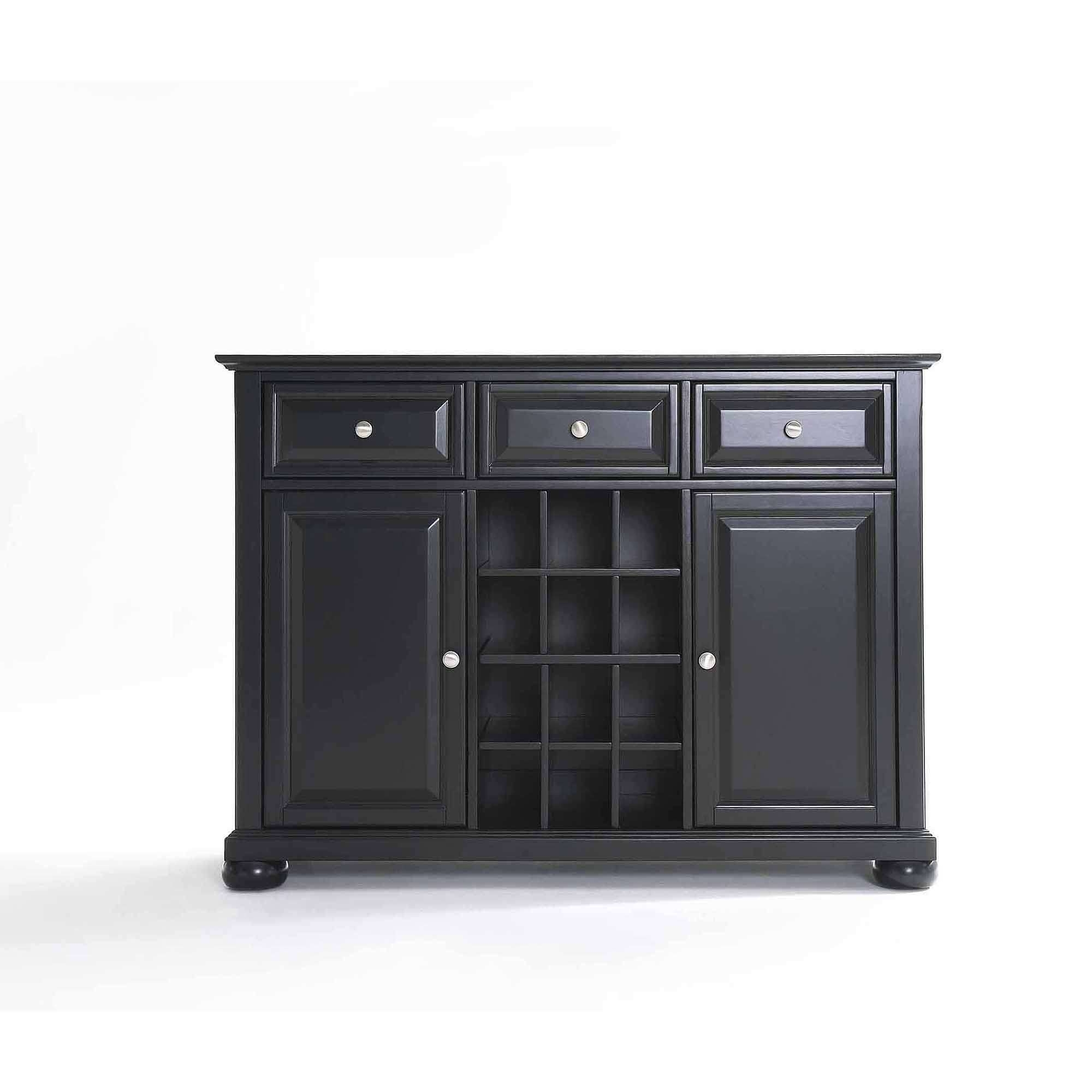 Crosley Furniture Alexandra Buffet Server And Sideboard Cabinet Pertaining To 60 Inch Sideboards (View 14 of 20)