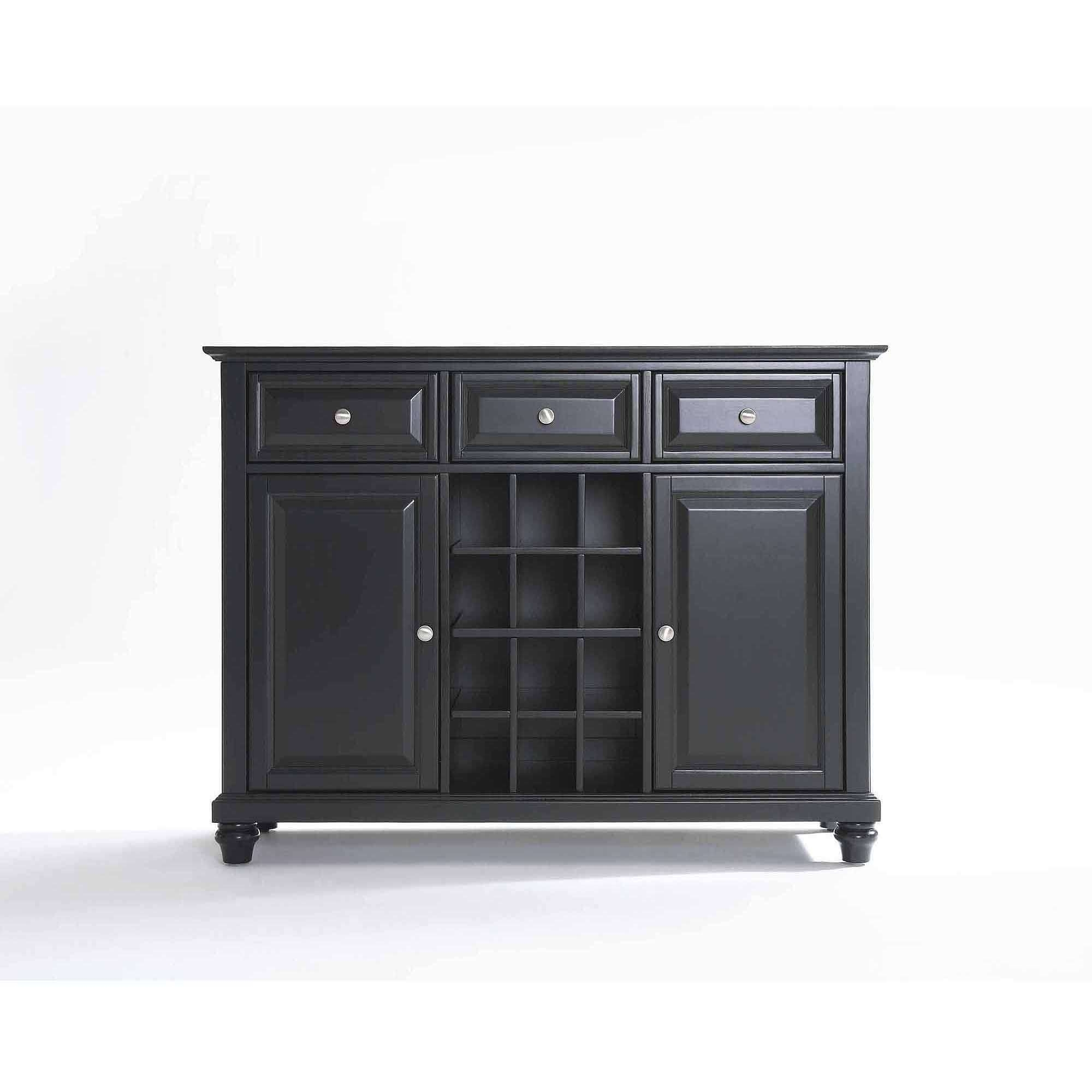 Crosley Furniture Cambridge Buffet Server And Sideboard Cabinet Intended For 50 Inch Sideboards (View 2 of 20)