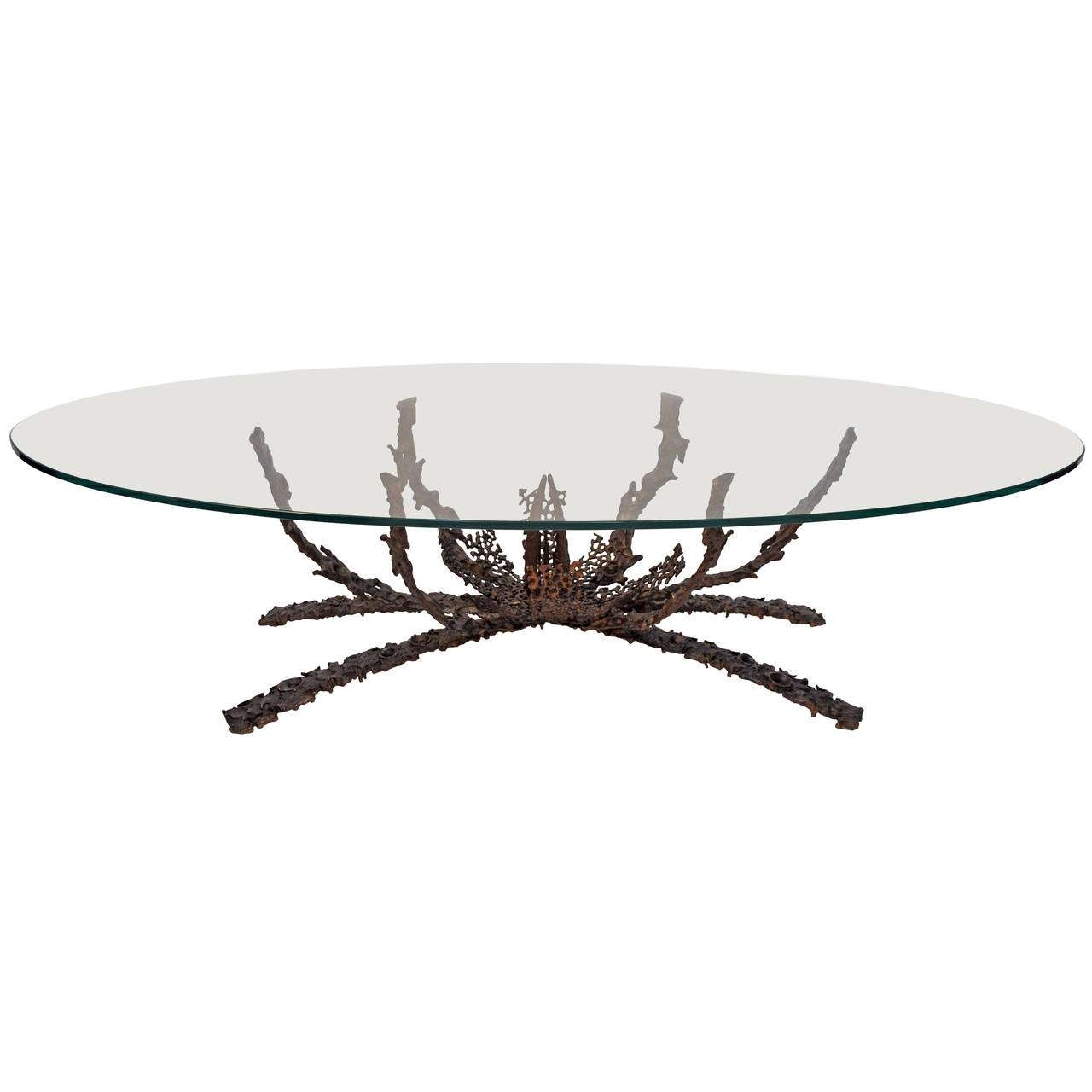 Current Bronze And Glass Coffee Tables Intended For Glass Coffee Tables: Captivating Bronze Glass Coffee Table Ideas (View 9 of 20)