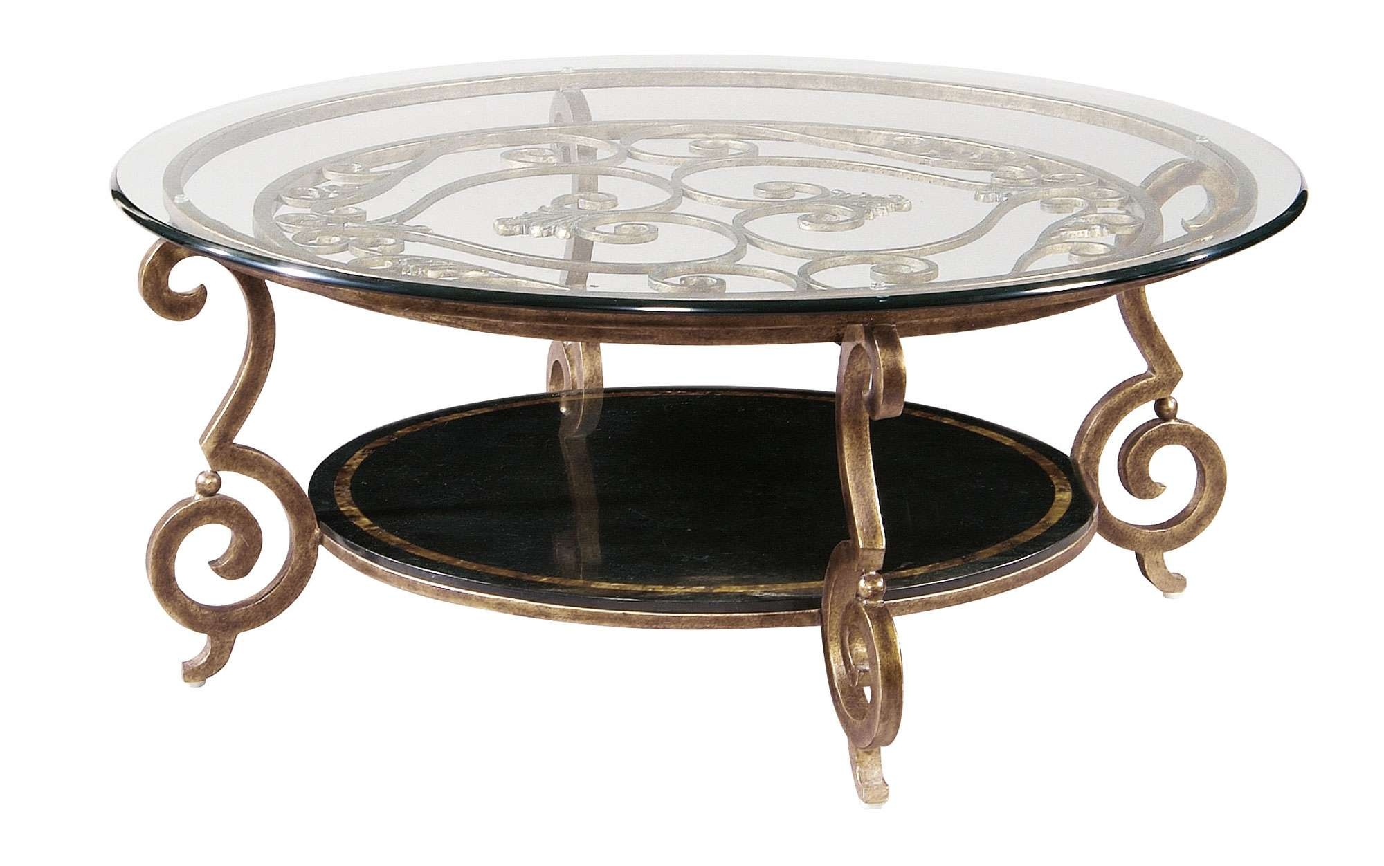 Current Chrome Coffee Table Bases Pertaining To Coffee Table : Wonderful Chrome Coffee Table Legs Wrought Iron (View 10 of 20)