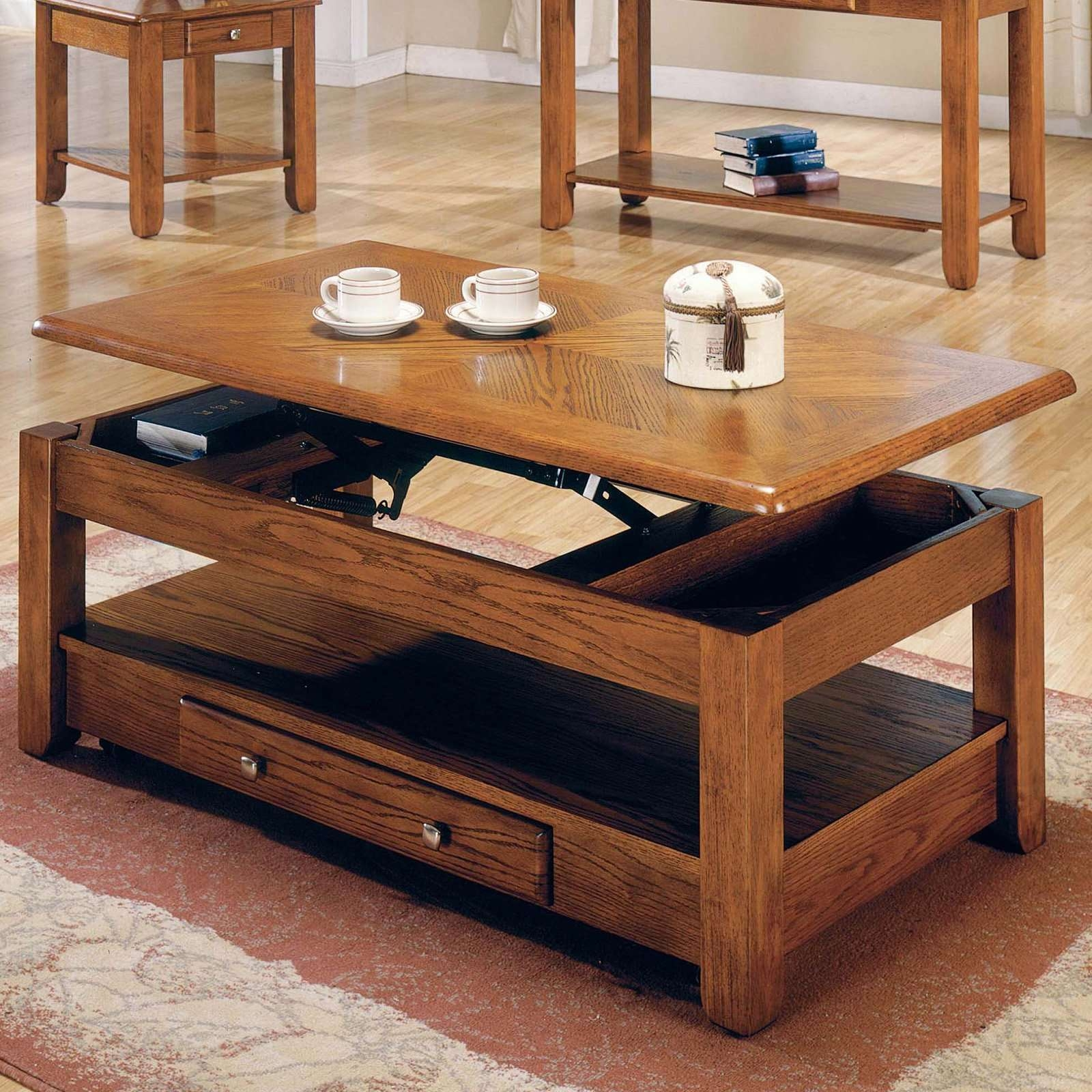 Current Elevating Coffee Tables Within Coffee Tables : Lift Top Coffee Table Target Coffee Table Designs (View 6 of 20)
