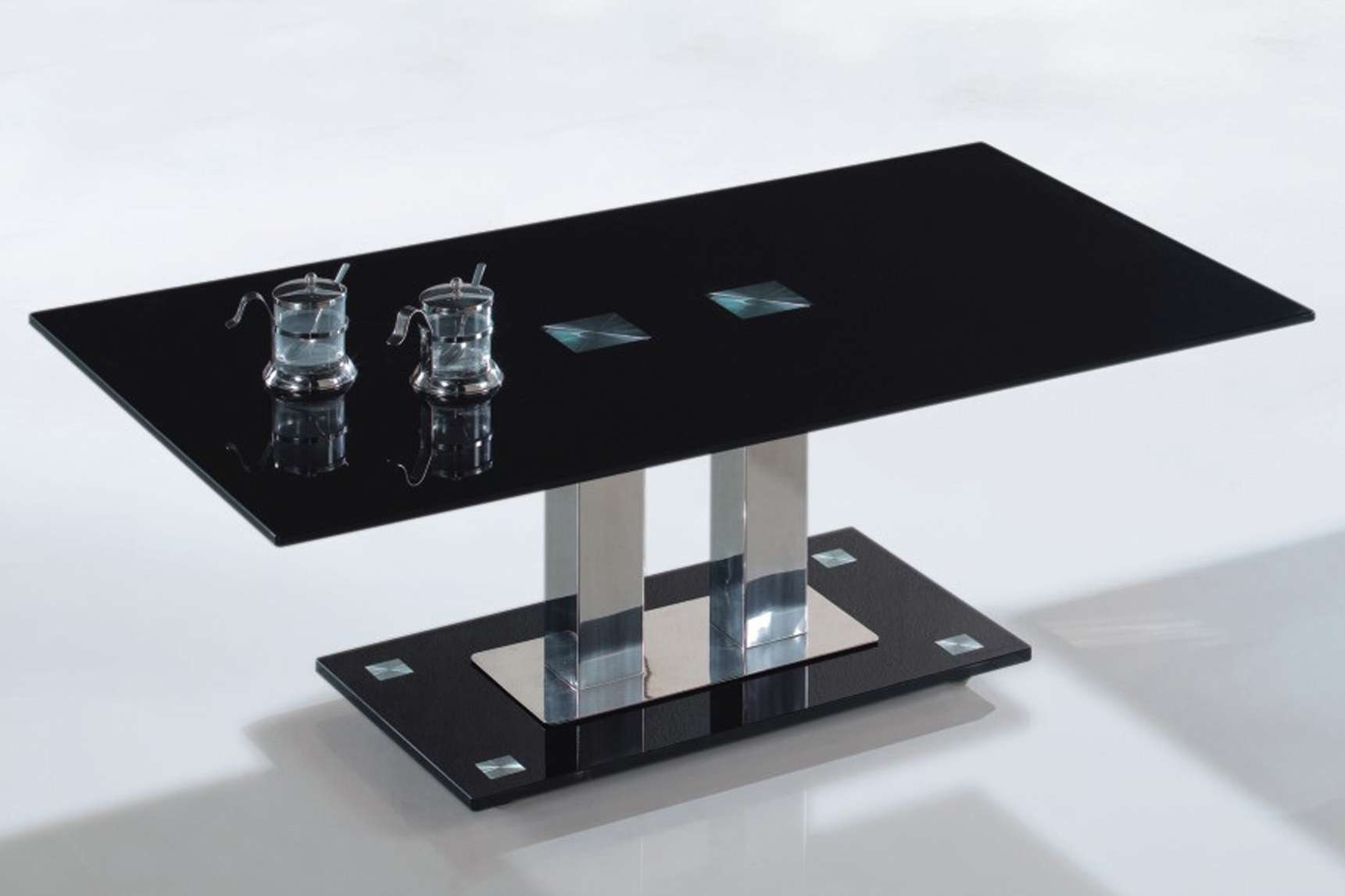 Current Glass And Black Coffee Tables Pertaining To Furniture : Unique Modern Coffee Tables Design Ideas With Black (View 7 of 20)
