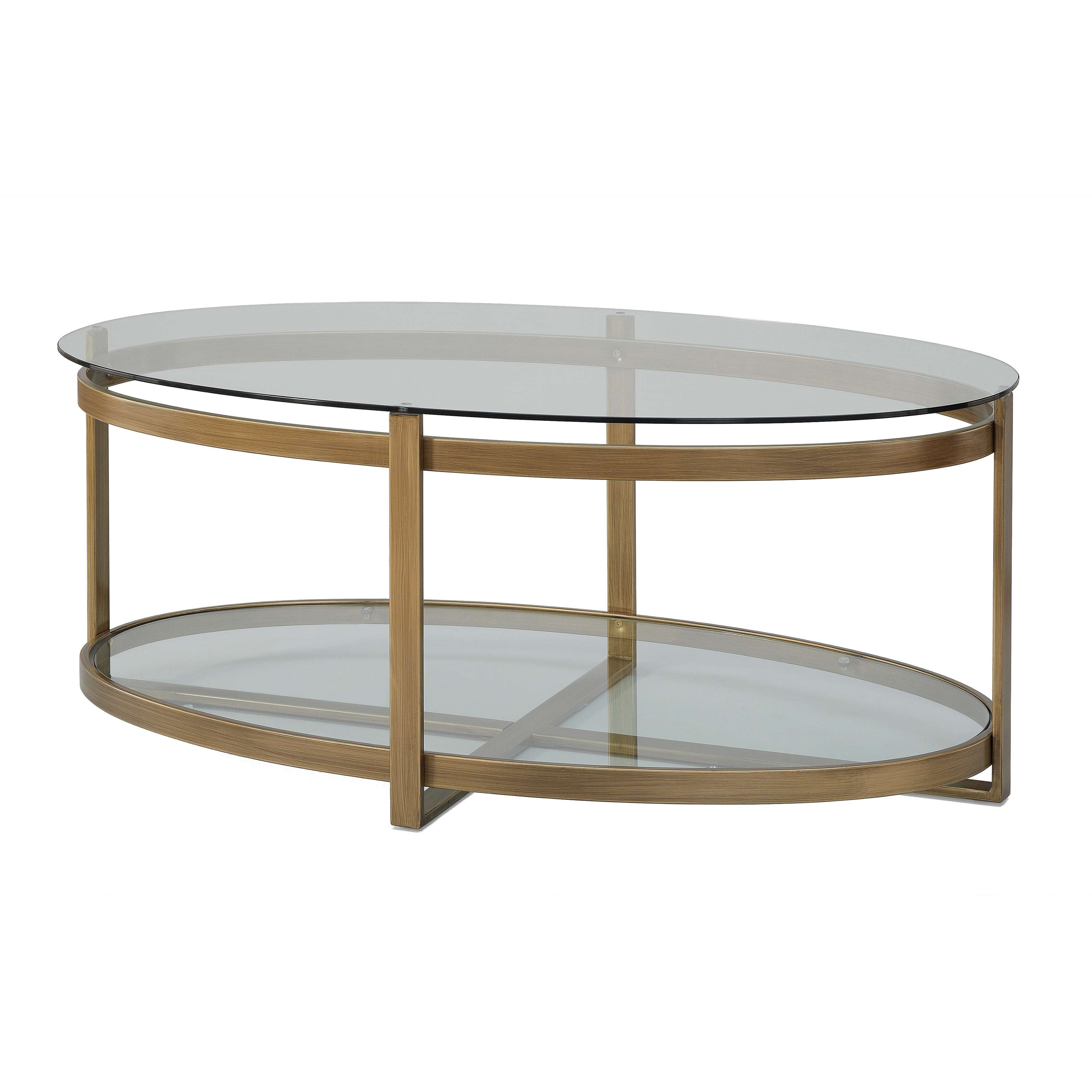 Current Glass Metal Coffee Tables Pertaining To Silver Orchid Marcello Retro Glitz Glass/ Metal Coffee Table (View 13 of 20)