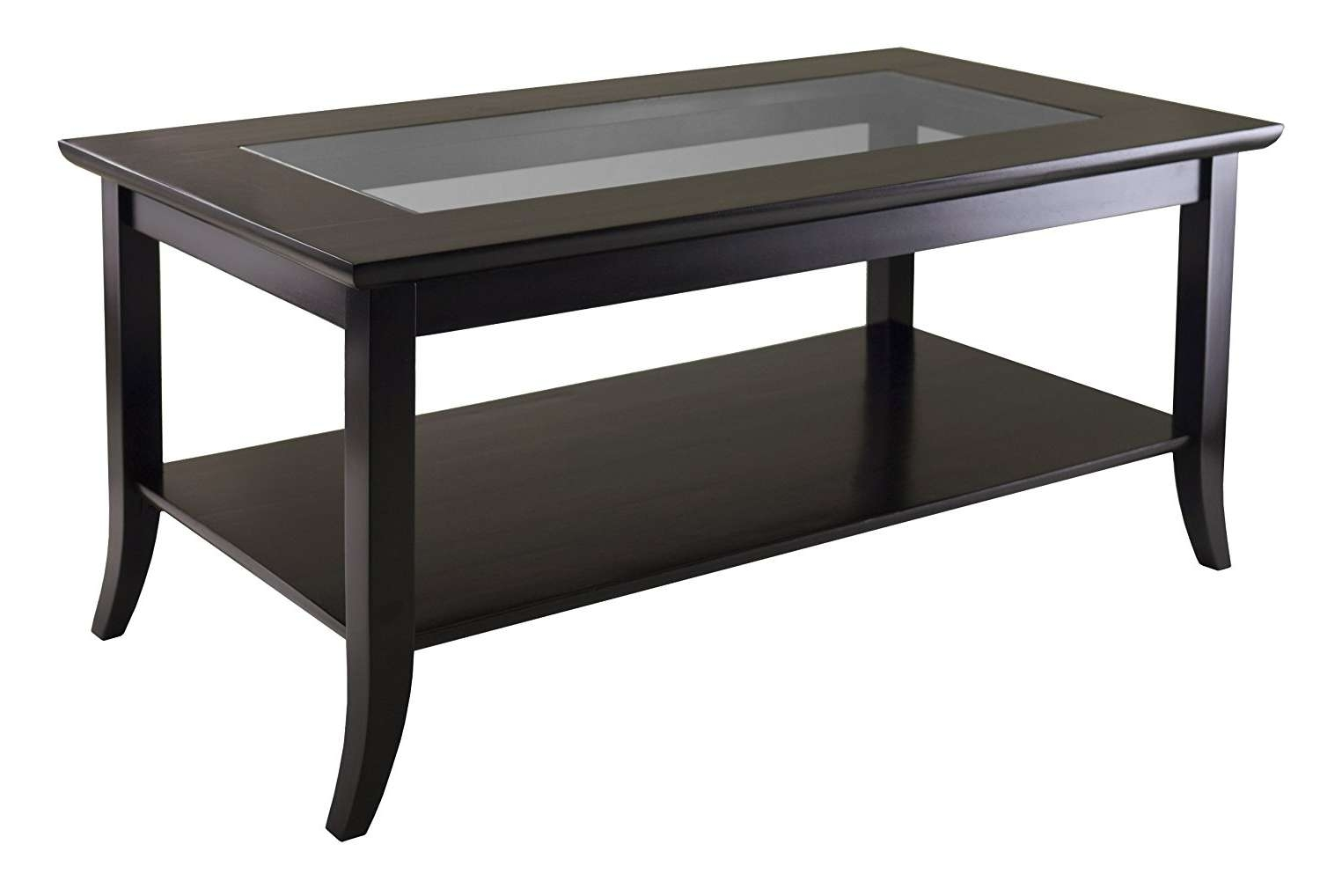 Current Glass Square Coffee Tables Regarding Coffee Tables : Breathtaking Square Glass Coffee Table Large (View 5 of 20)