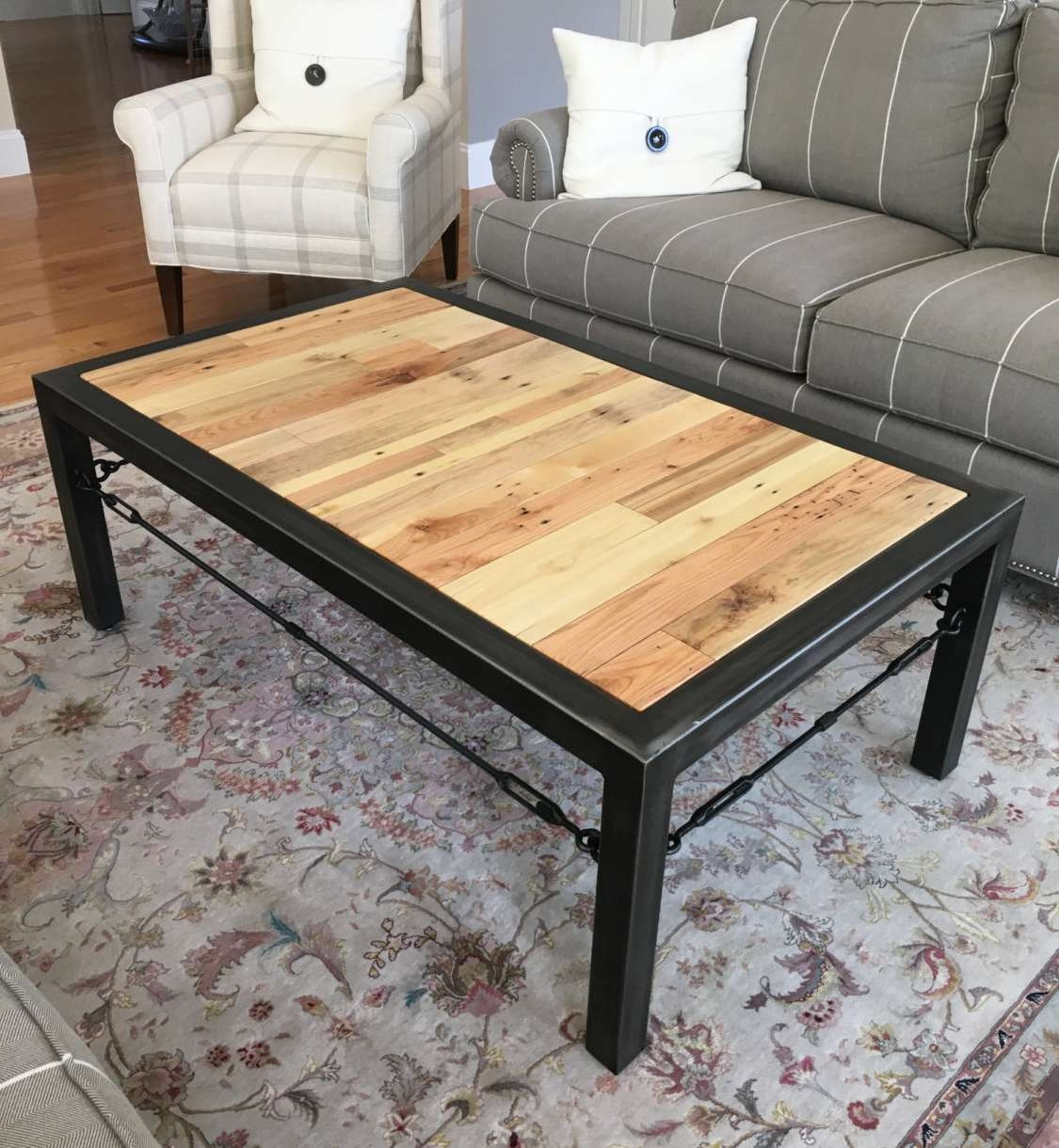 Current Industrial Coffee Tables Intended For Industrial Tables For Sale Tags : Exquisite Industrial Coffee (View 7 of 20)