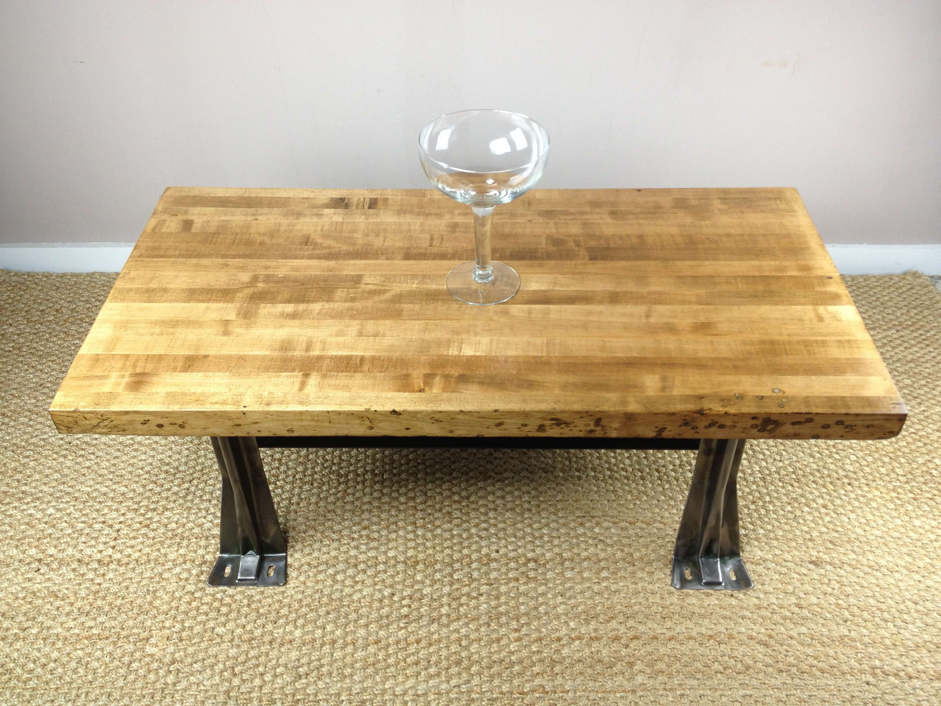 Current Large Square Low Coffee Tables Regarding Diy Custom Square Low Coffee Table Using Reclaimed Wood Top And (View 7 of 20)