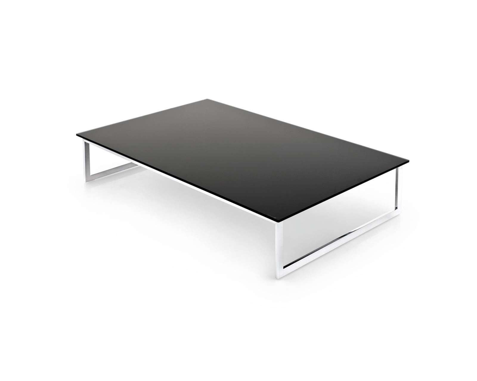 Current Low Rectangular Coffee Tables Throughout Home Design: Endless Rectangular Low Coffee Table Calligaris (View 8 of 20)