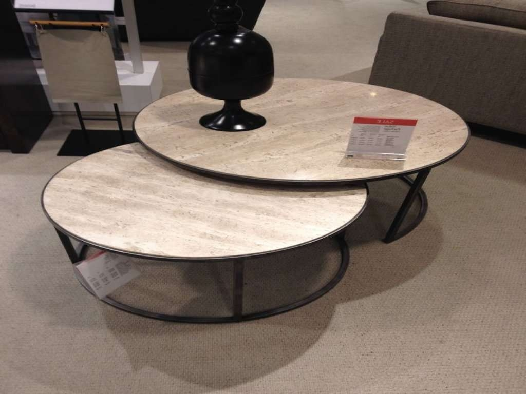 Current Monterey Coffee Tables Inside Furniture: Round Nesting Coffee Table Elegant Macy 39 S Monterey (View 2 of 20)