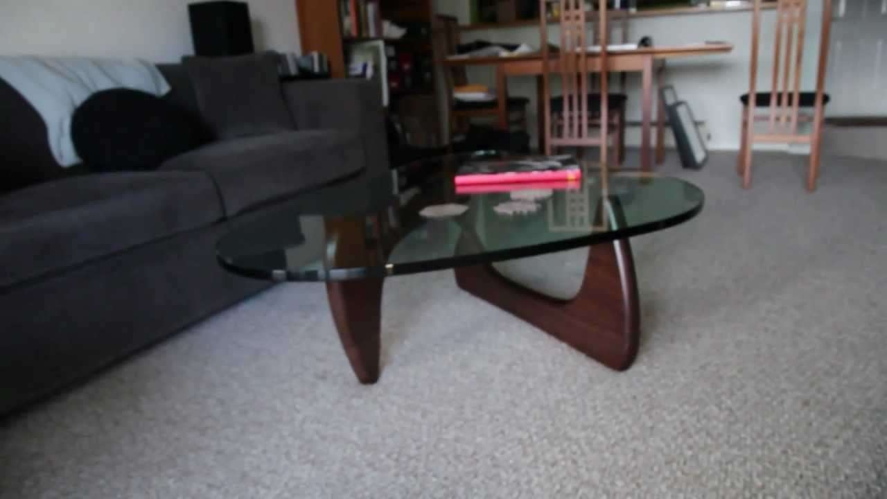 Current Noguchi Coffee Tables Intended For Noguchi Coffee Tableherman Miller – Youtube (View 15 of 20)