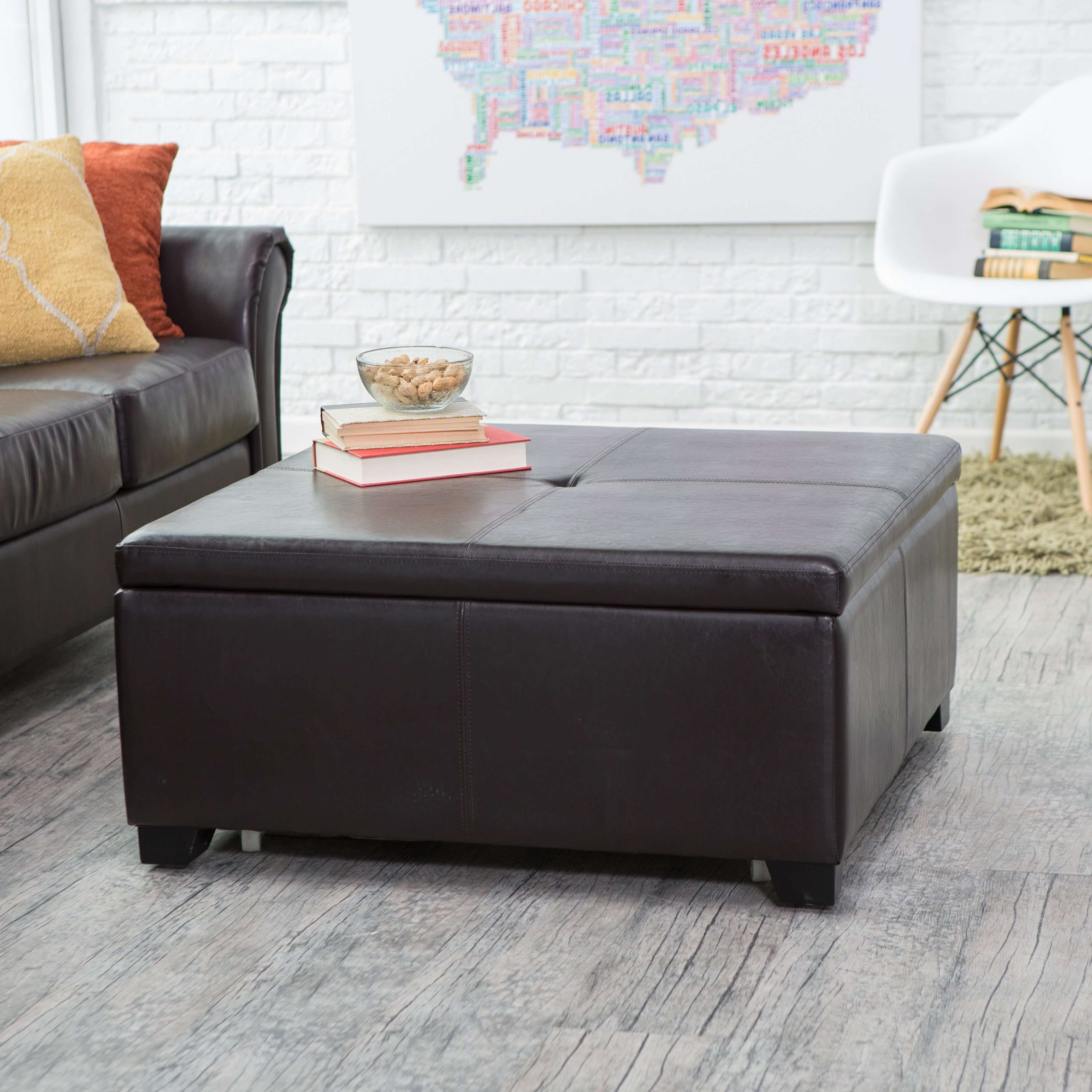 2018 Popular Round Coffee Table Storages
