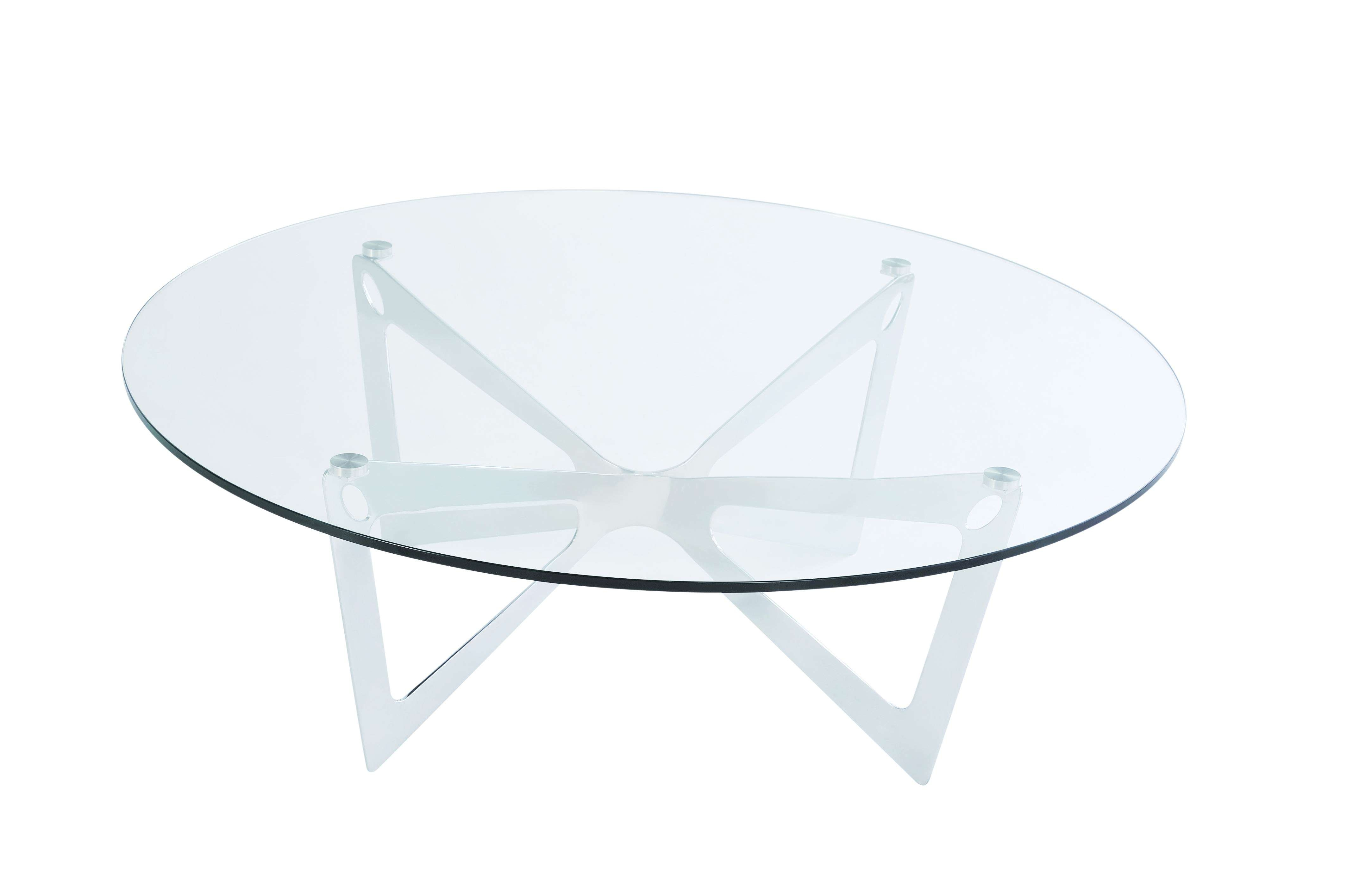 Current Round Glass Coffee Tables Throughout Small Glass Coffee Tables (View 7 of 20)