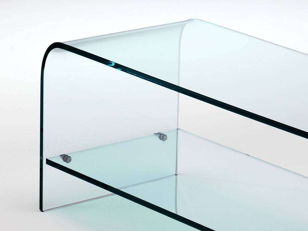 Curved Glass Tv Stand Tango With Regard To Glass Tv Cabinets (View 6 of 20)