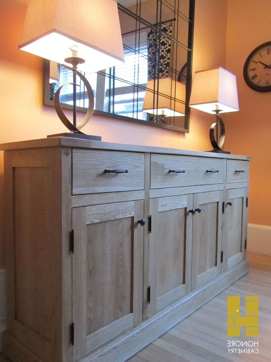 Custom Made Furnishings : Distressed Oak Sideboardhonore For Distressed Buffet Sideboards (View 12 of 20)
